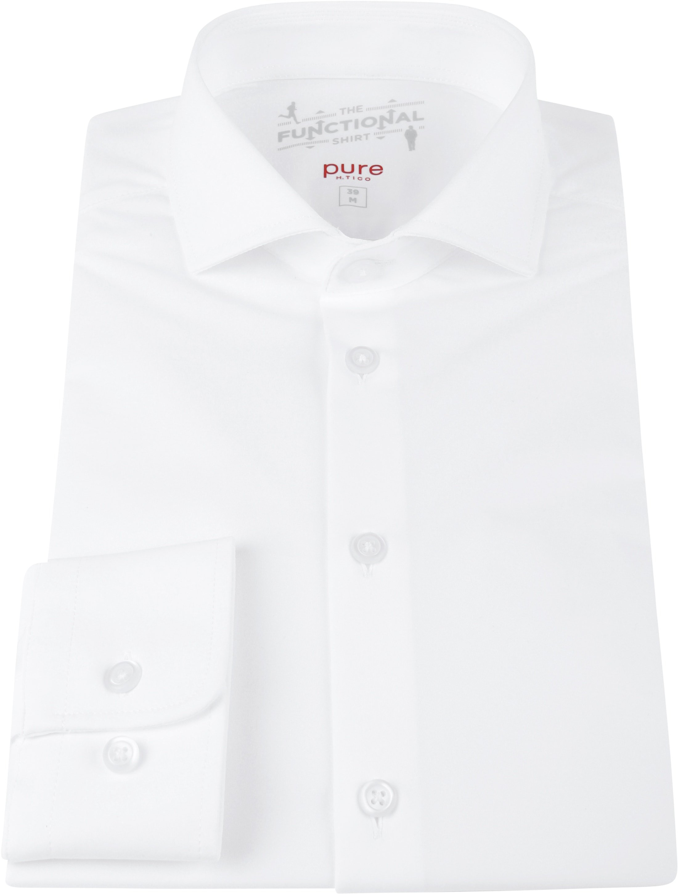 Pure H.Tico The Functional Shirt White photo 2
