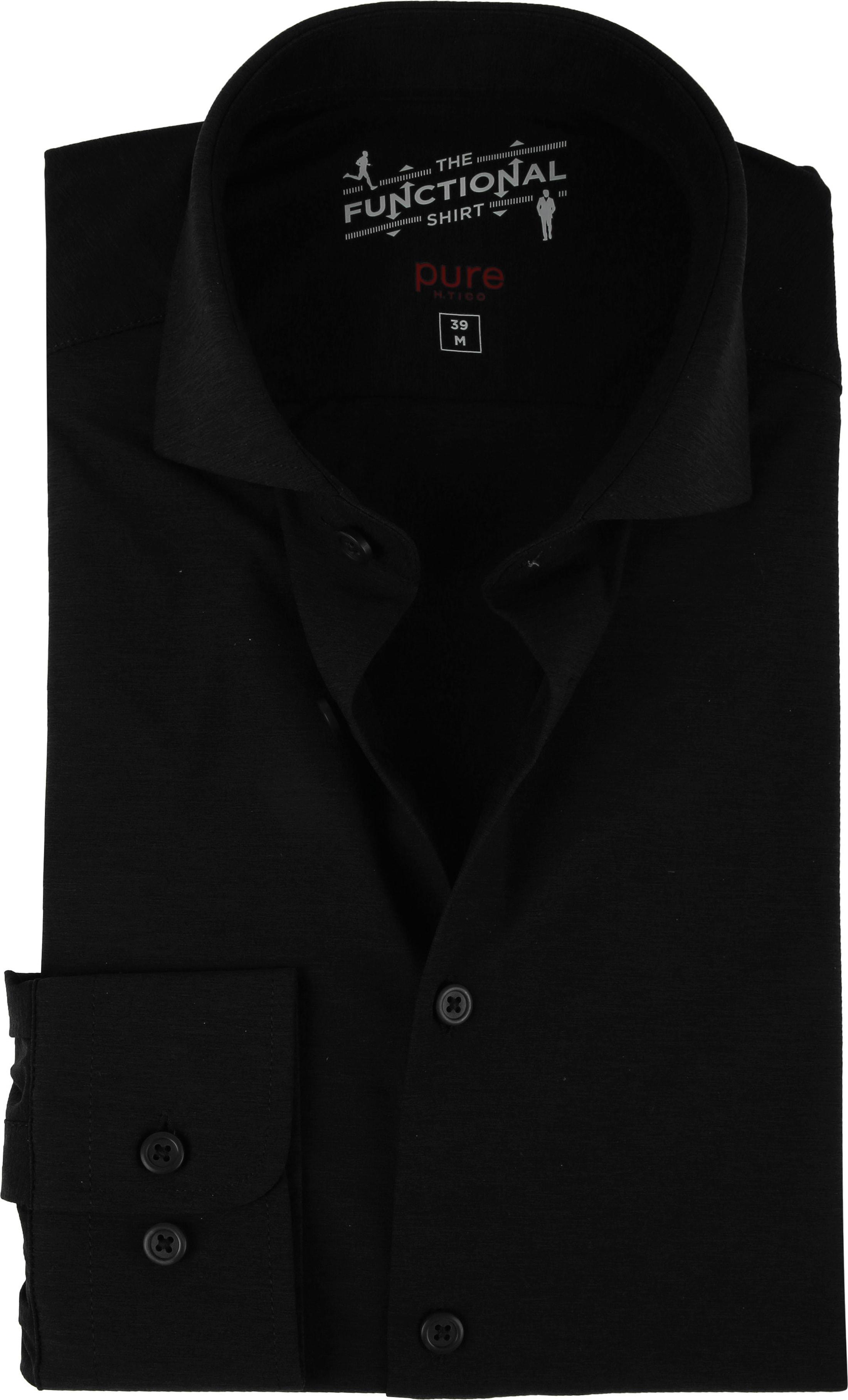 Pure H.Tico The Functional Shirt Zwart