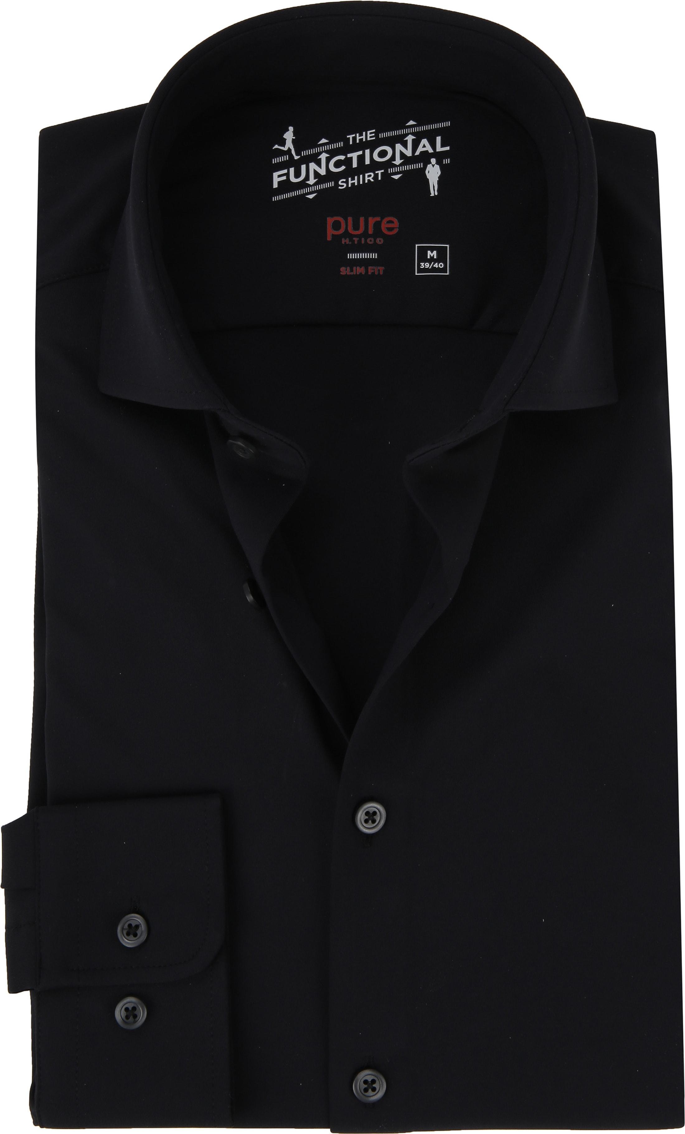 Pure The Functional Shirt Black foto 0
