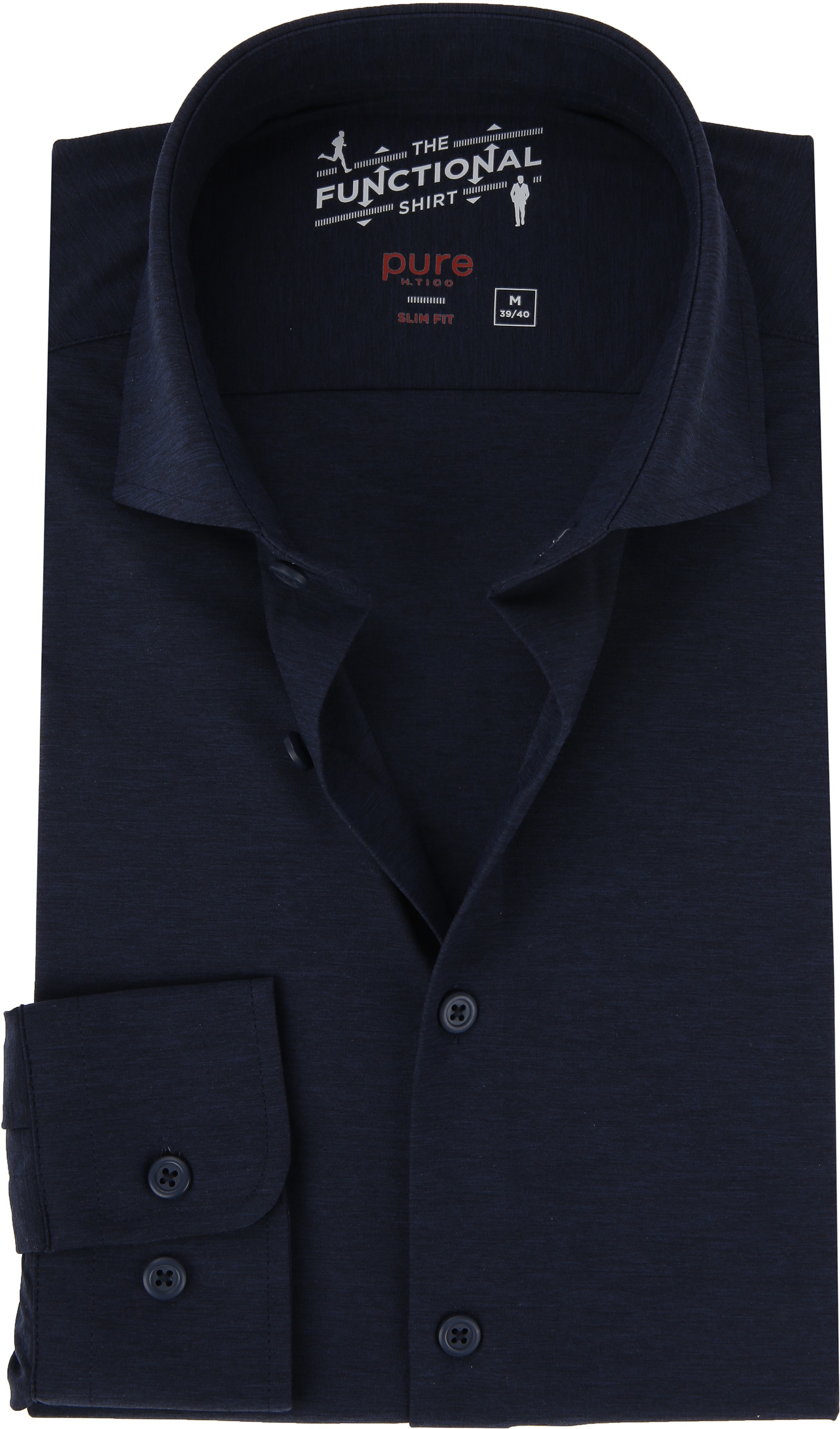 Pure The Functional Shirt Navy foto 0