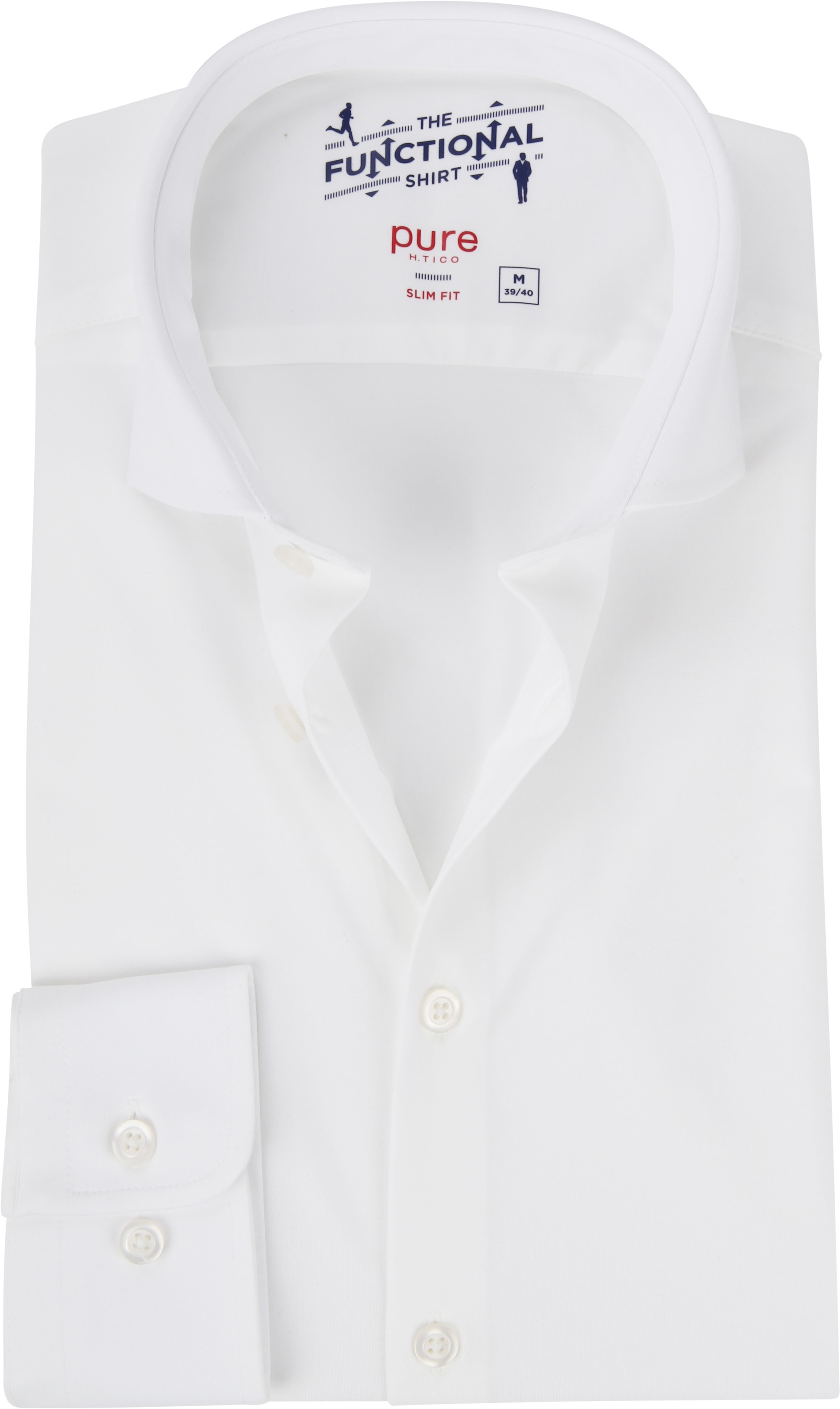 Pure The Functional Shirt White foto 0