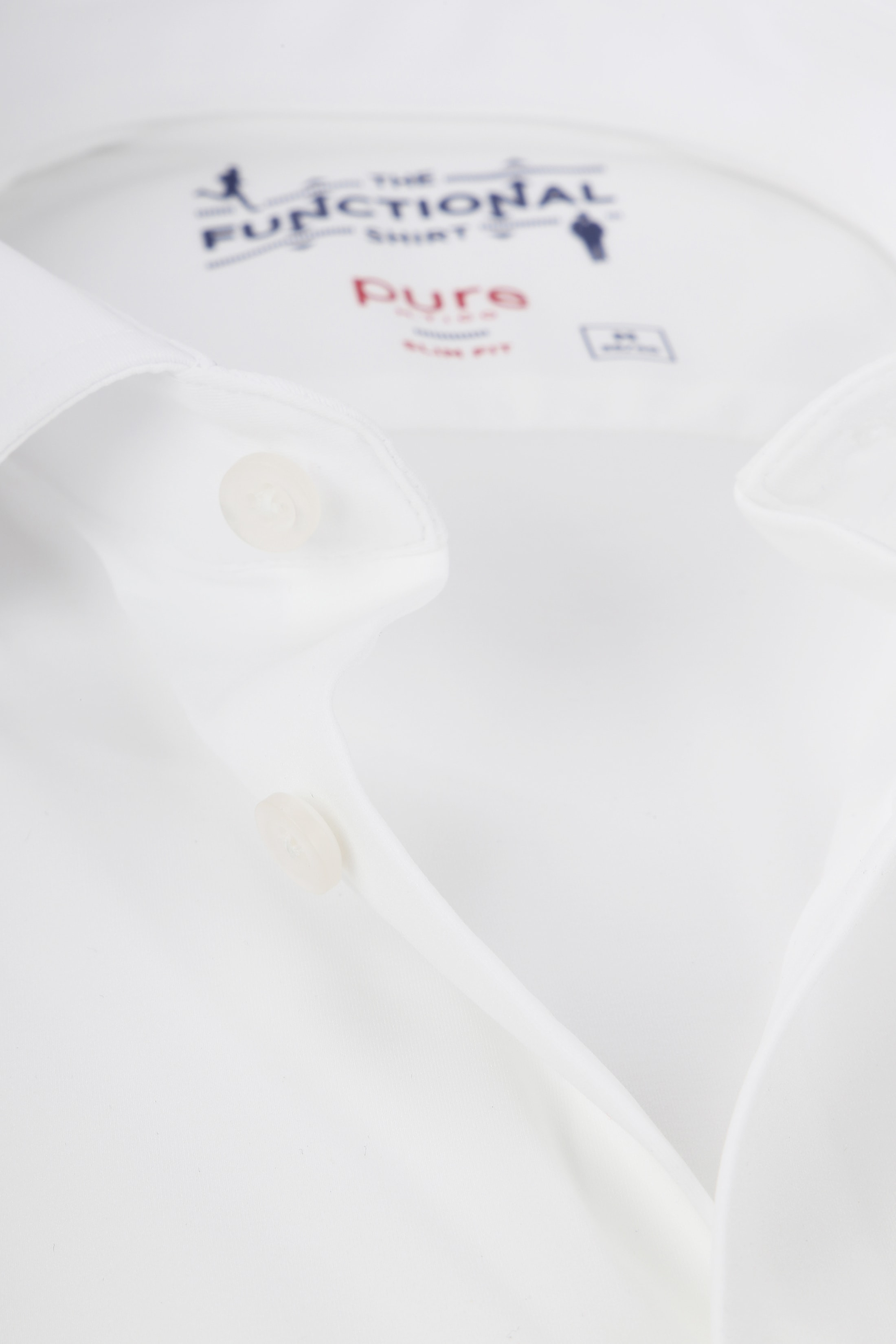 Pure The Functional Shirt Wit foto 1