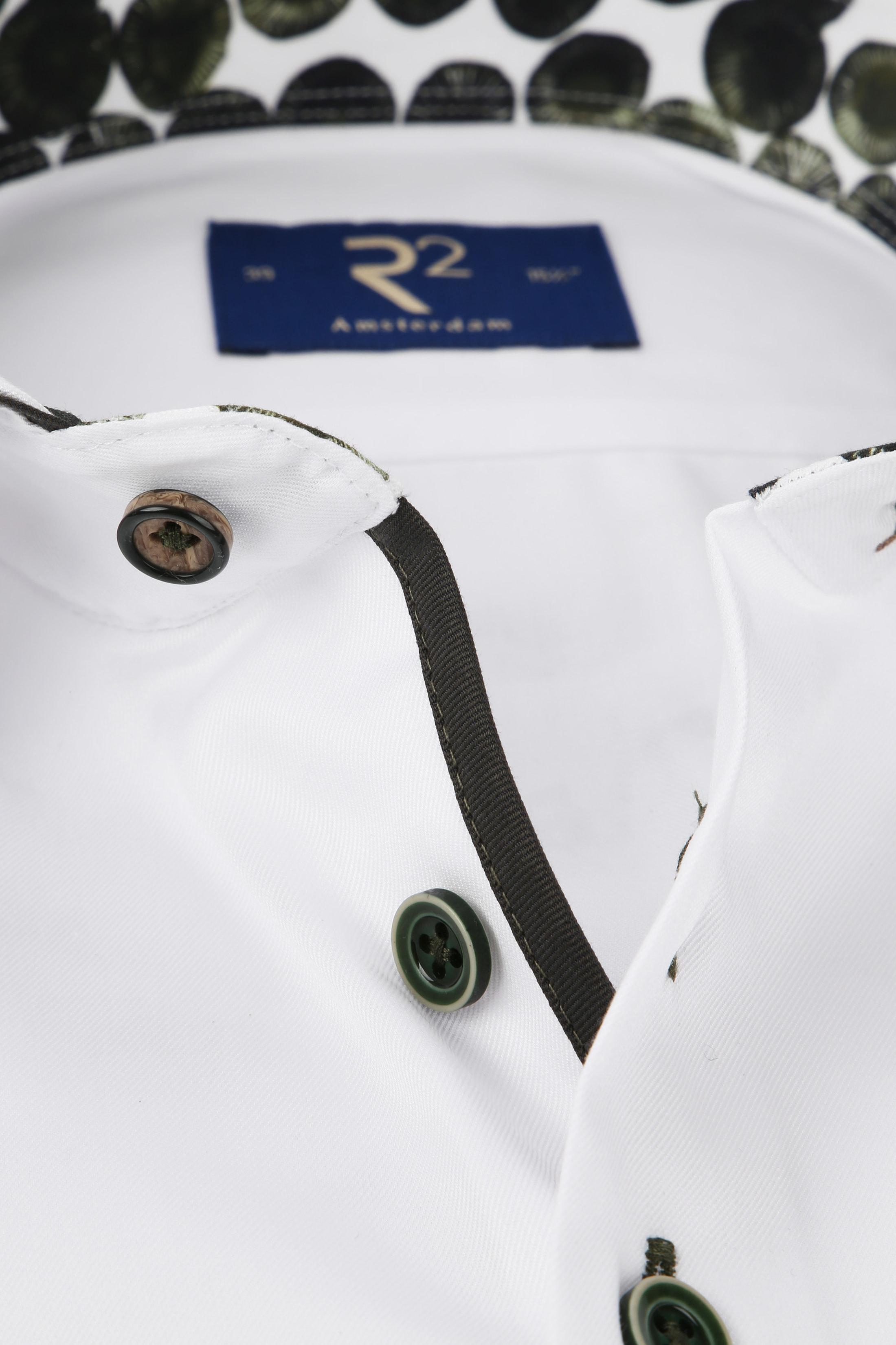 R2 Hemd Weiß Uni TF Foto 1
