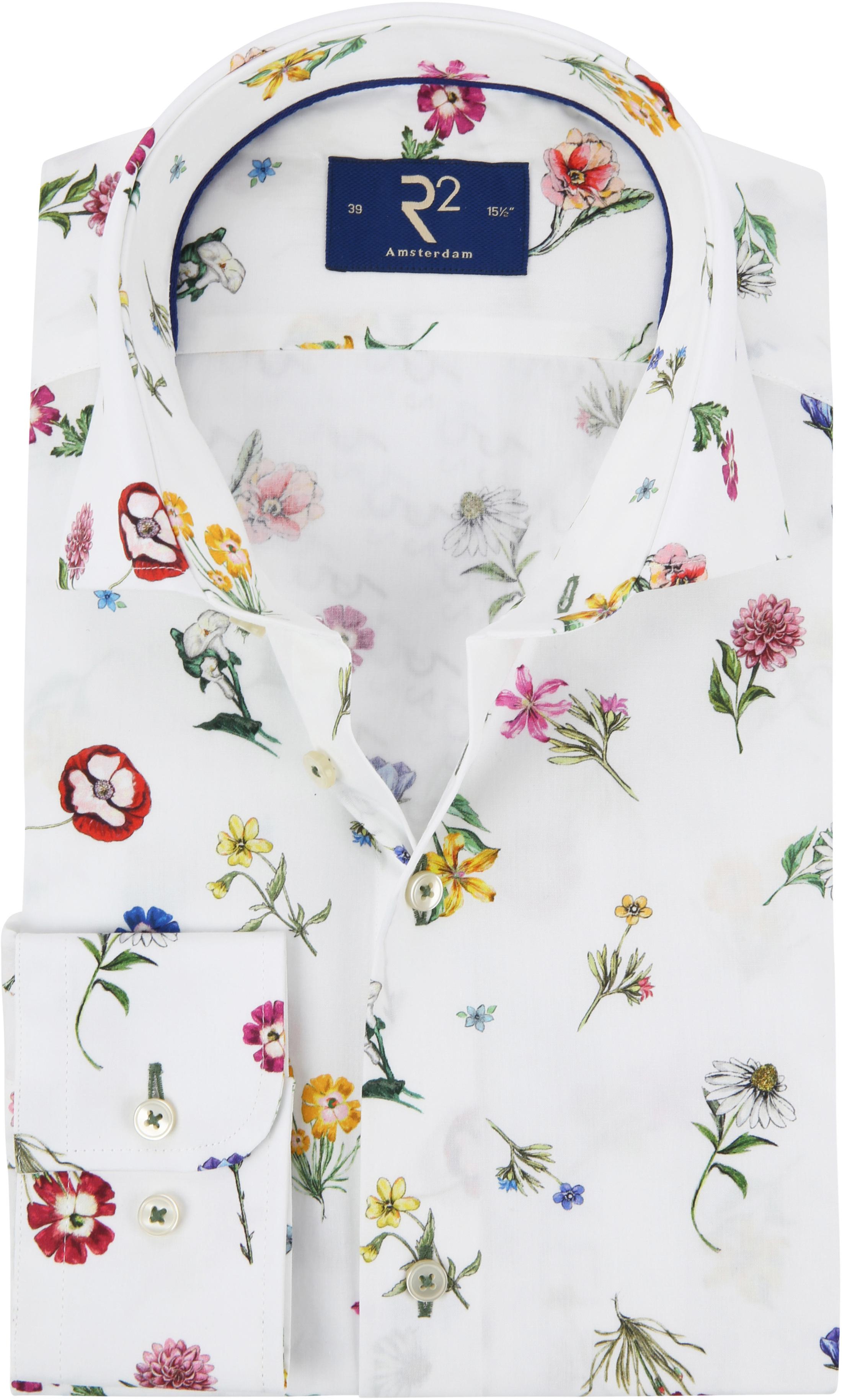 R2 Overhemd Bloemen foto 0