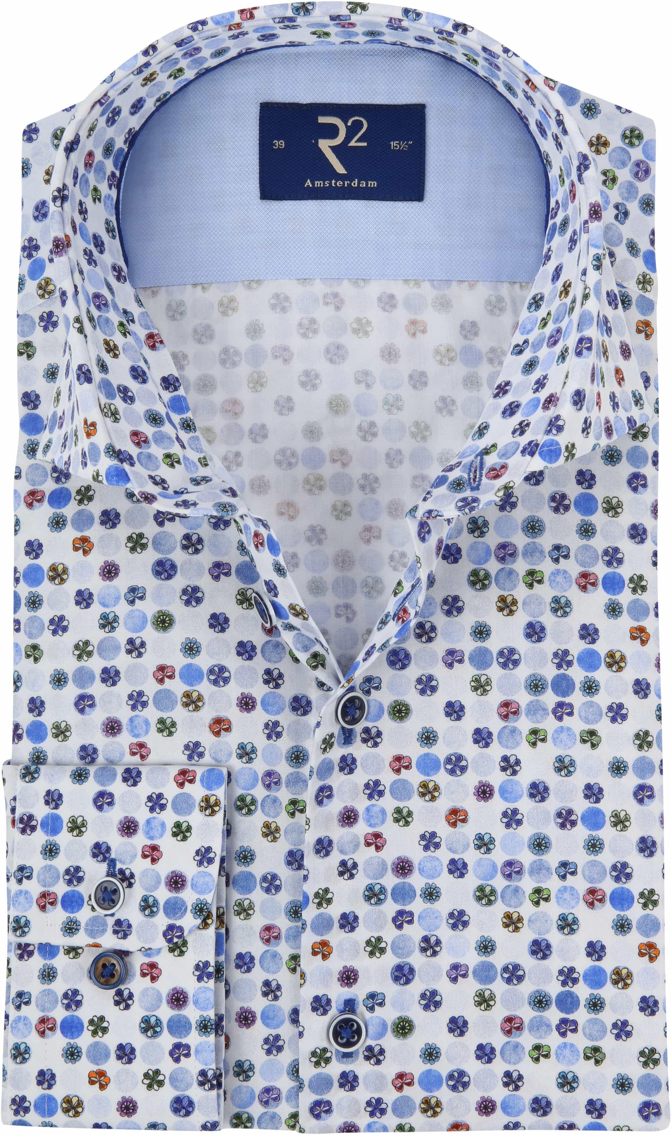 Bloemen Overhemd.R2 Overhemd Gekleurde Bloemen 104 Wsp 007 073 Online Bestellen