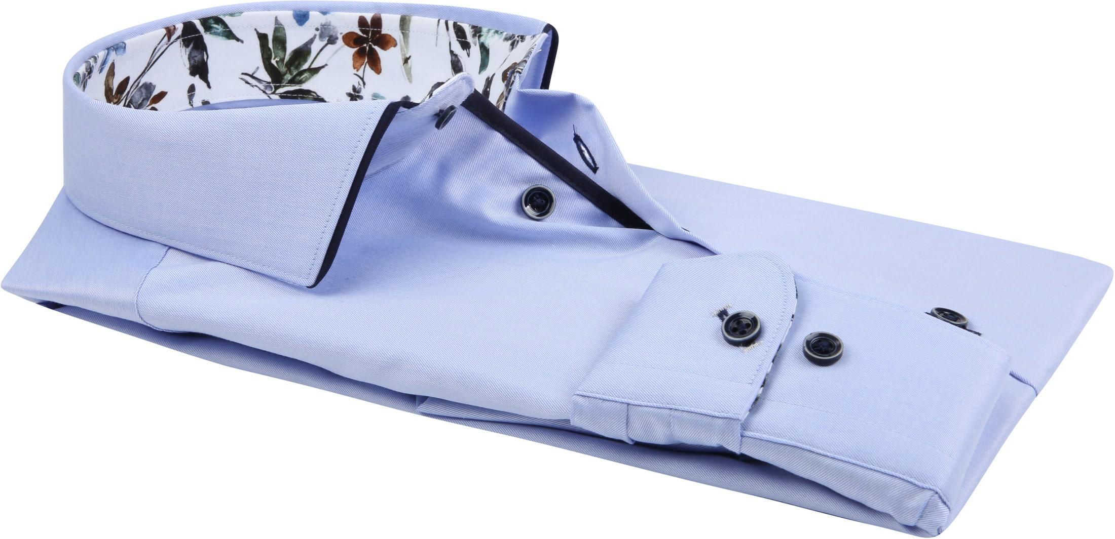 R2 Overhemd Uni Lichtblauw foto 3