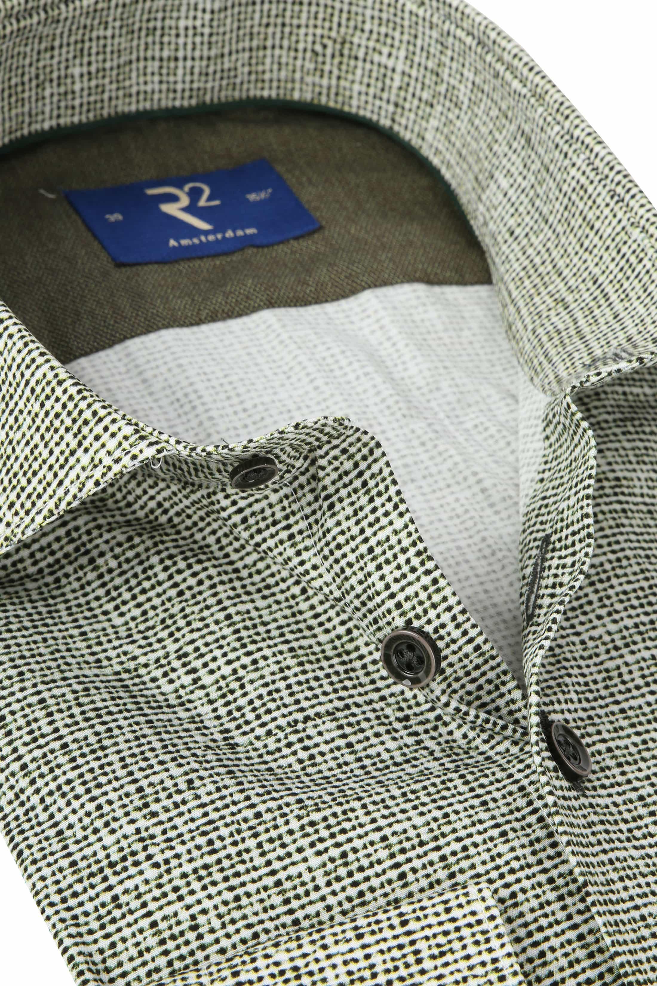 R2 Shirt Poplin Green foto 1