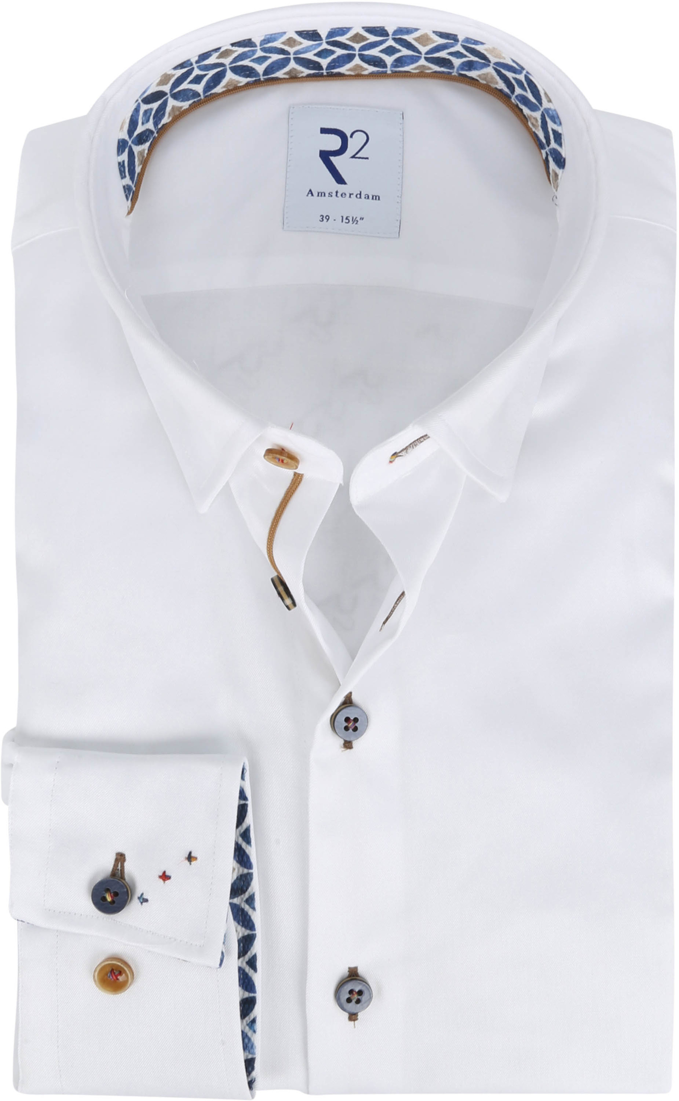 R2 Shirt White Pattern