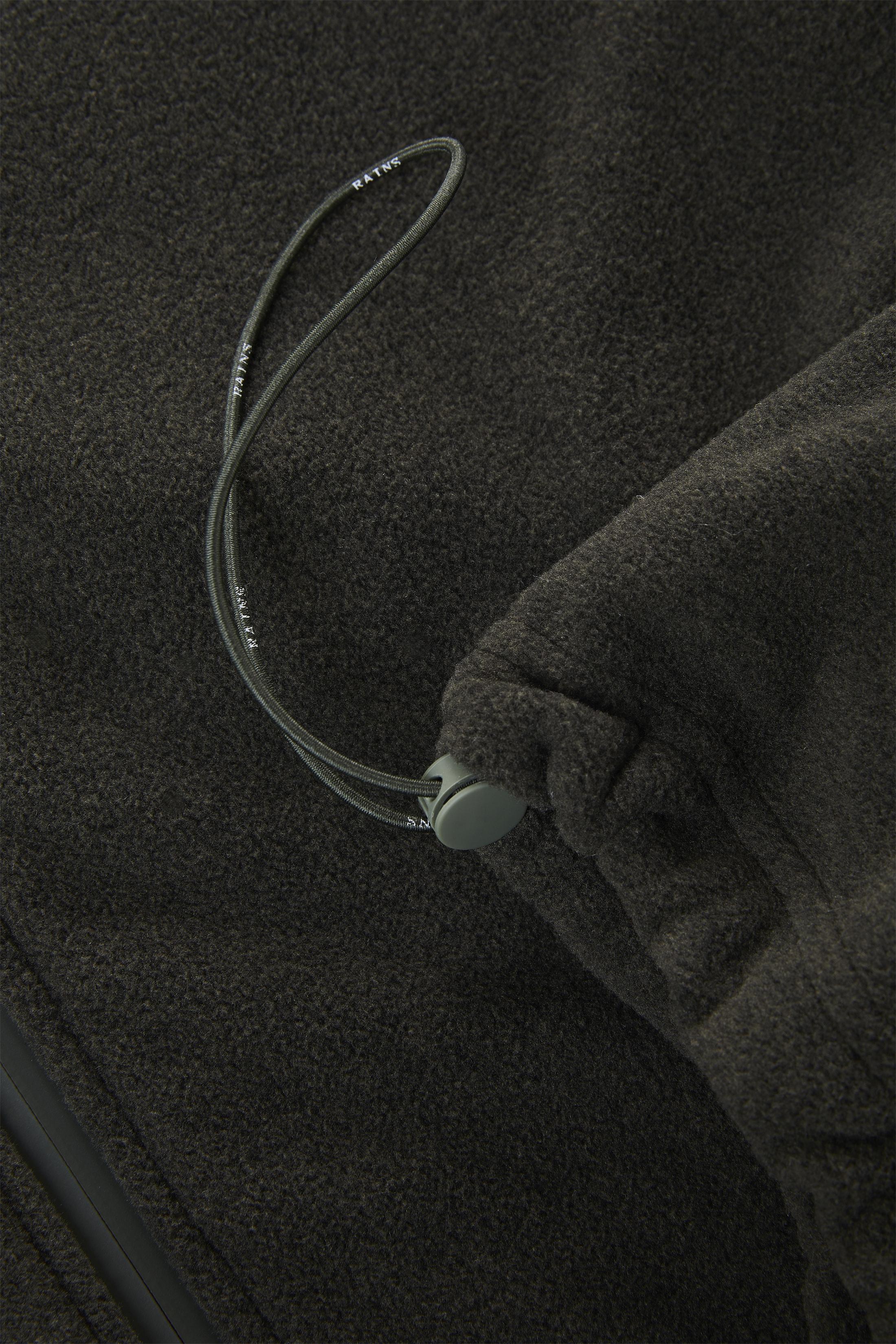 Rains Bodywarmer Fleece Donkergroen