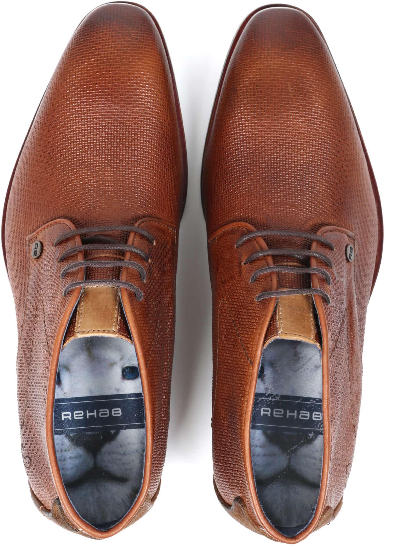 Rehab Shoe Gregory Wall Cognac foto 3