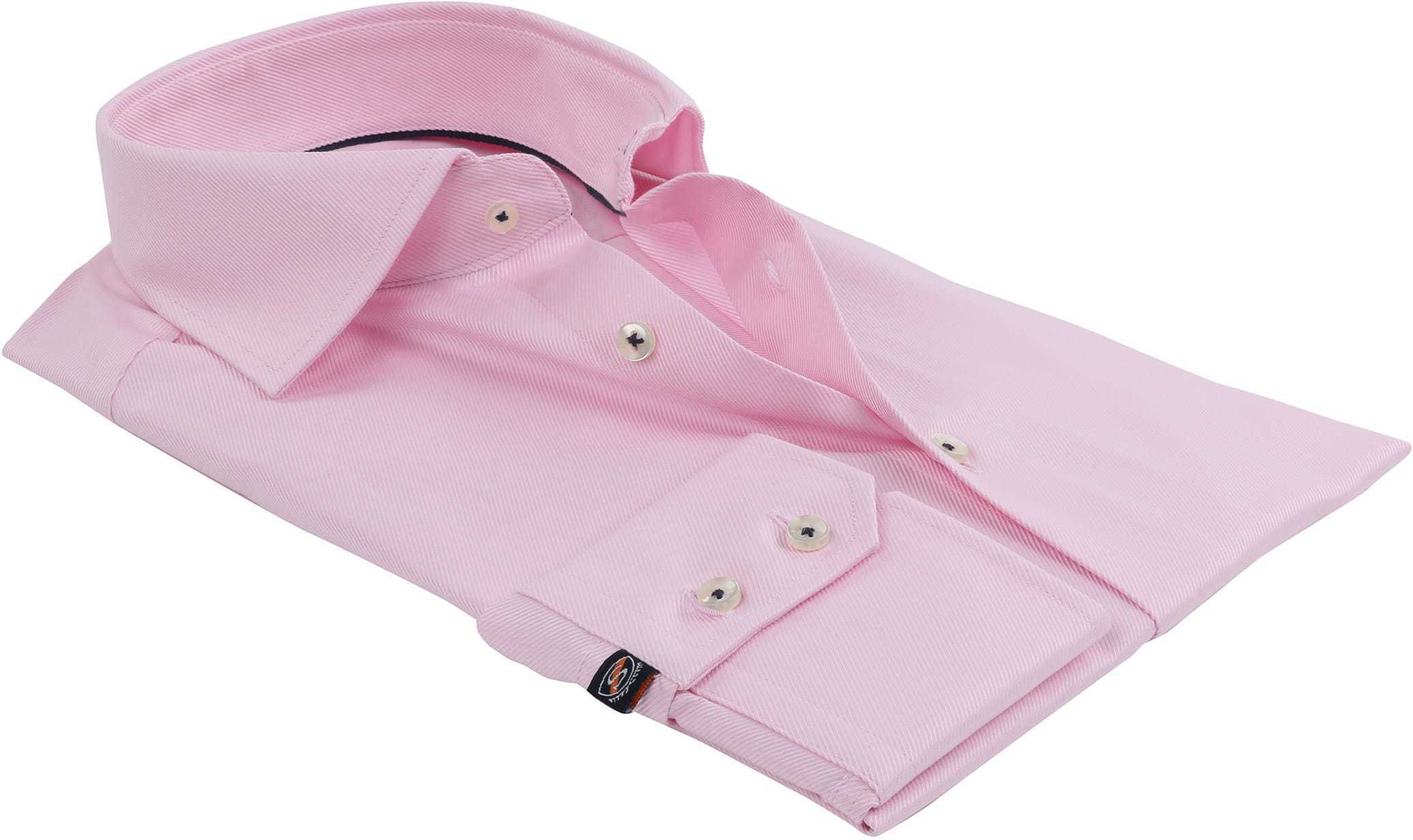 Rosa Geschäfts Hemd foto 3