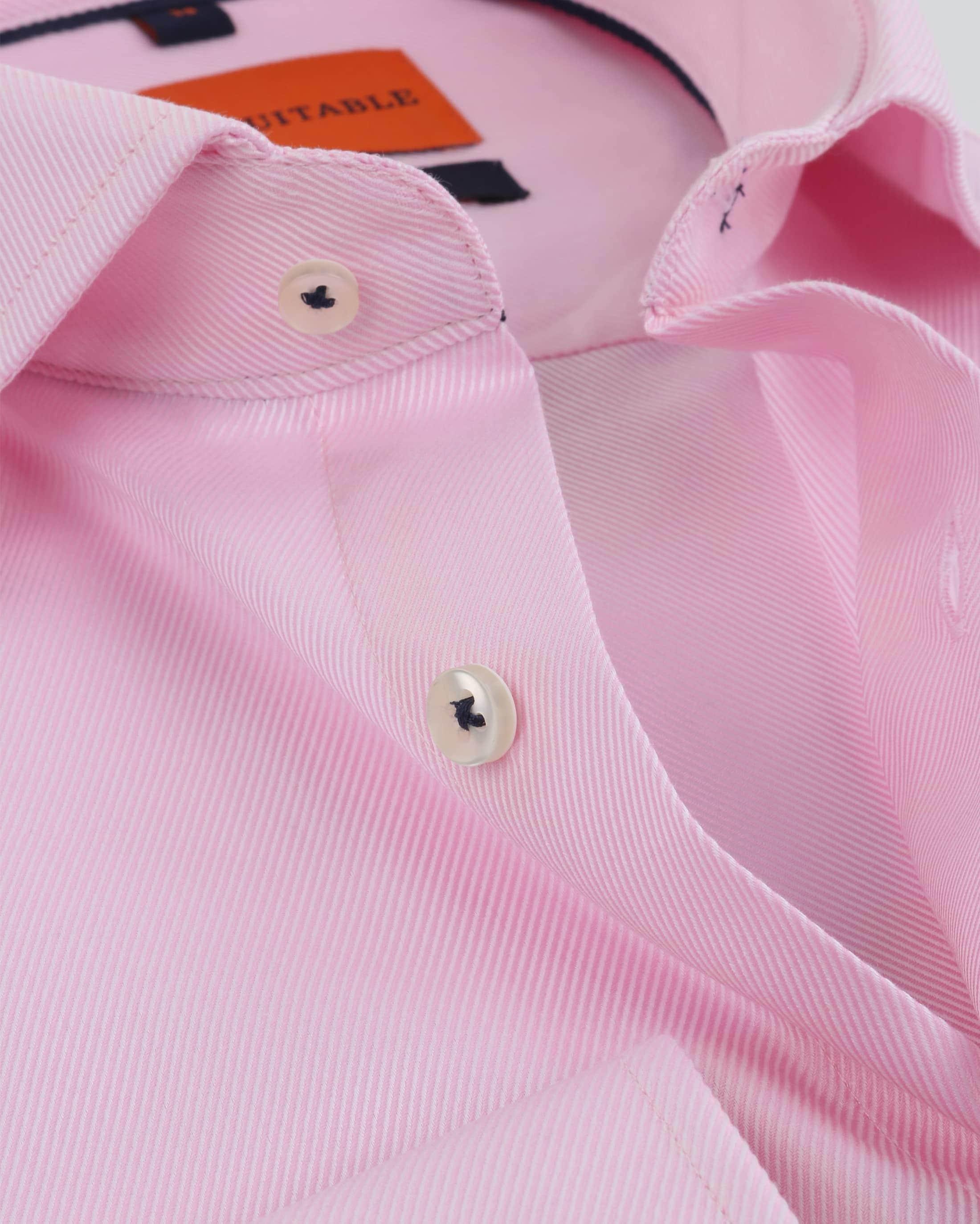 Rosa Geschäfts Hemd foto 1