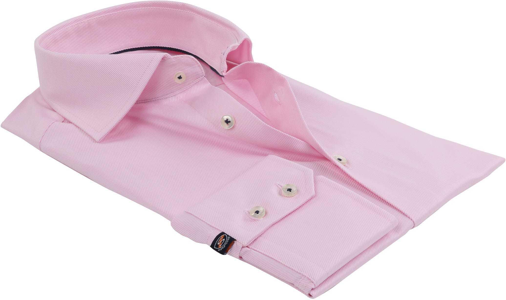 Roze Zakelijk Overhemd foto 3
