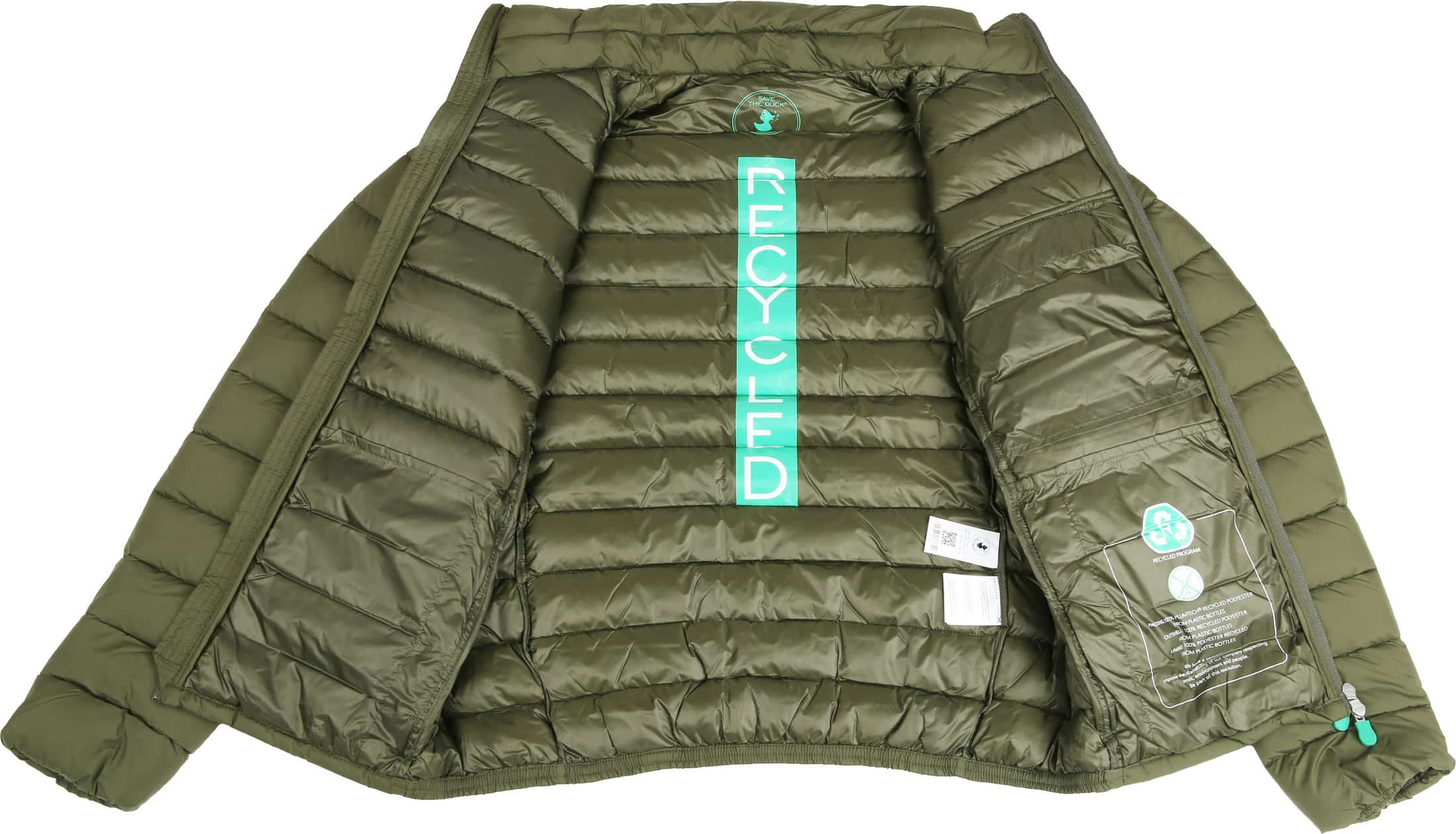 Save The Duck Jacket Olive