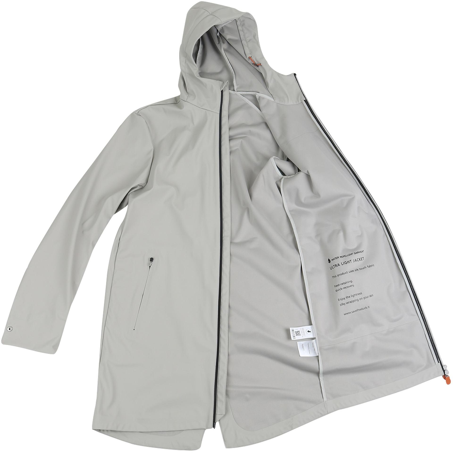 Save the Duck Jacket Rain4 Grey foto 5