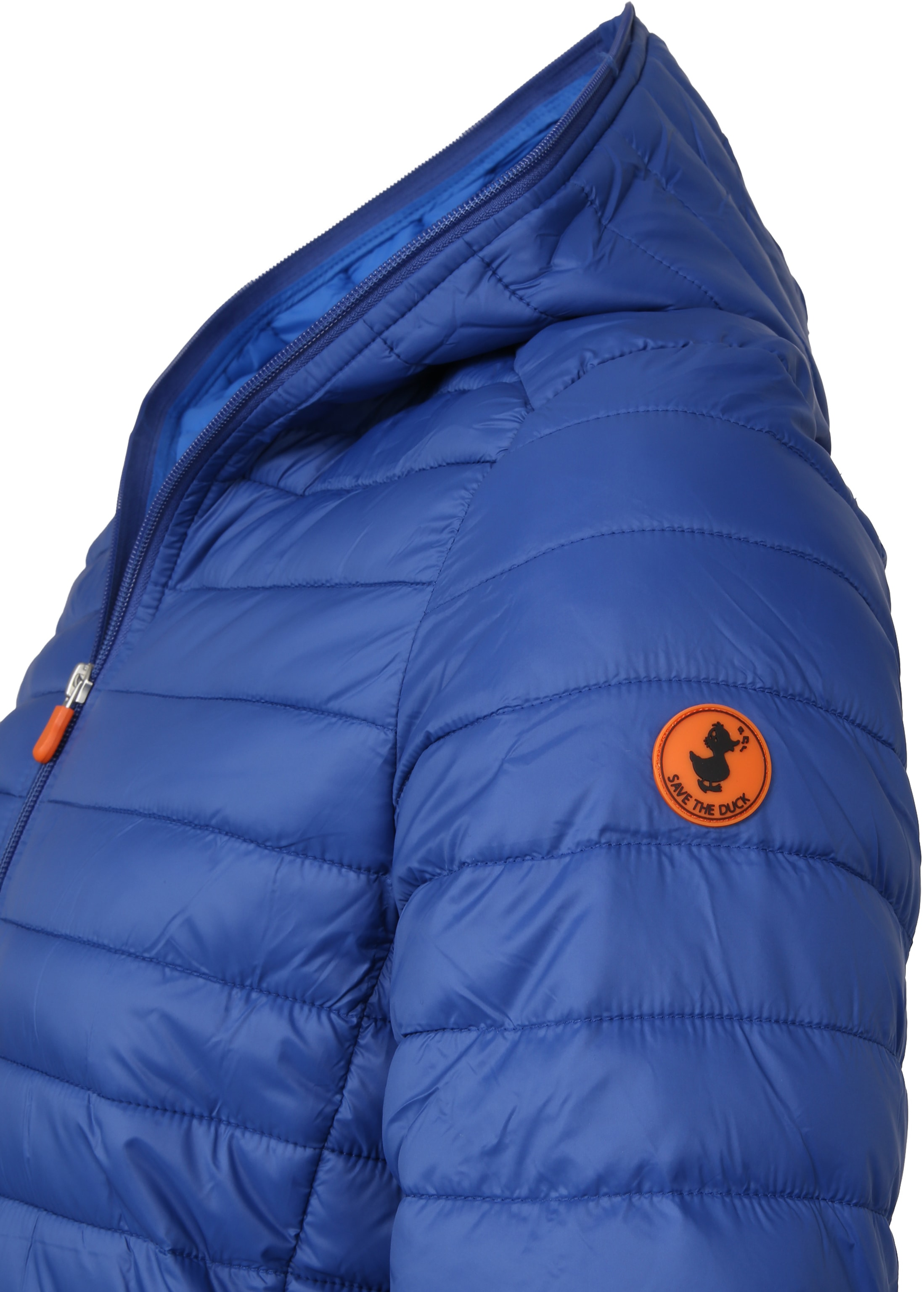 Save the Duck Jas Giga Hooded Blauw foto 1