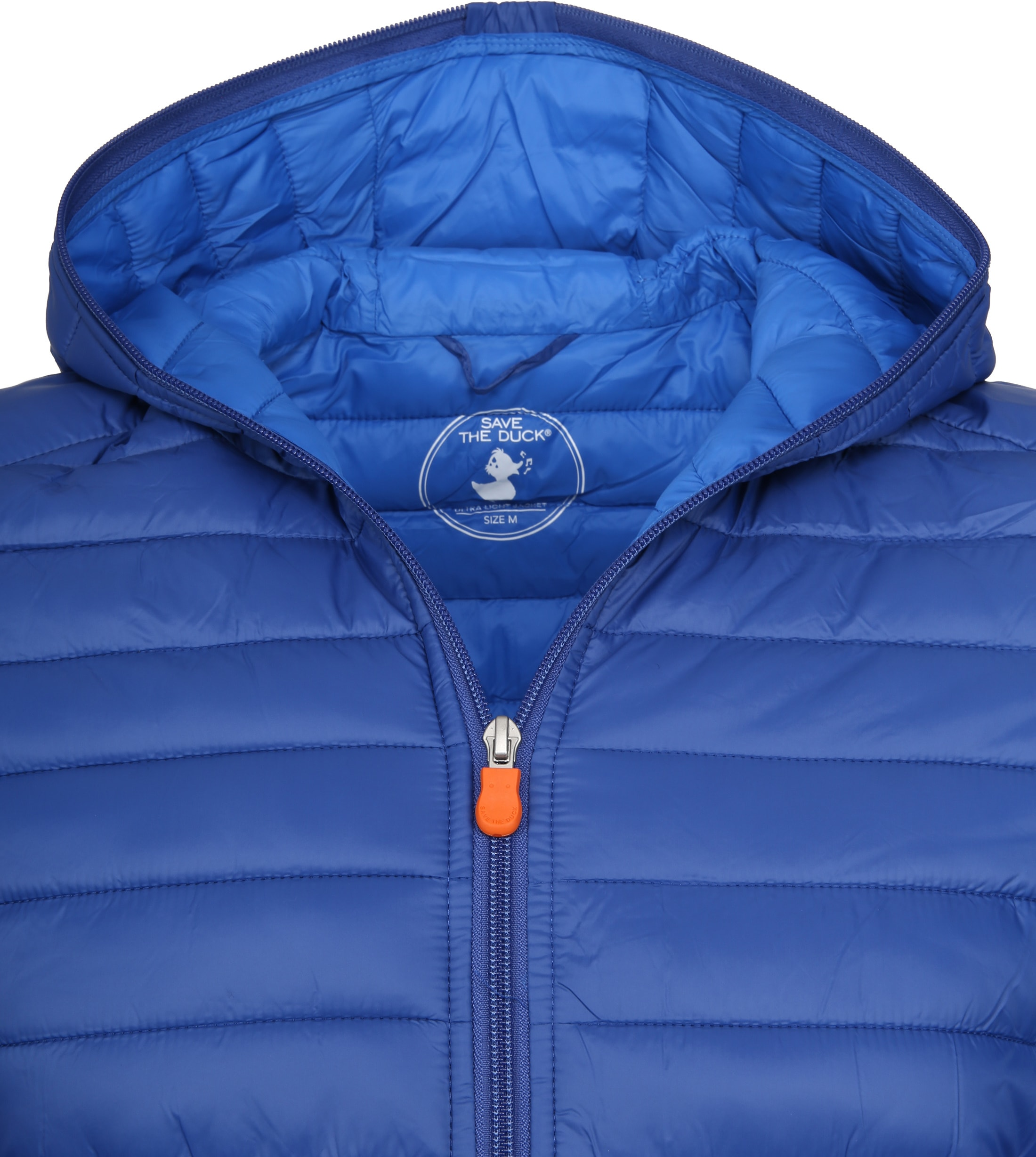 Save the Duck Jas Giga Hooded Blauw foto 2