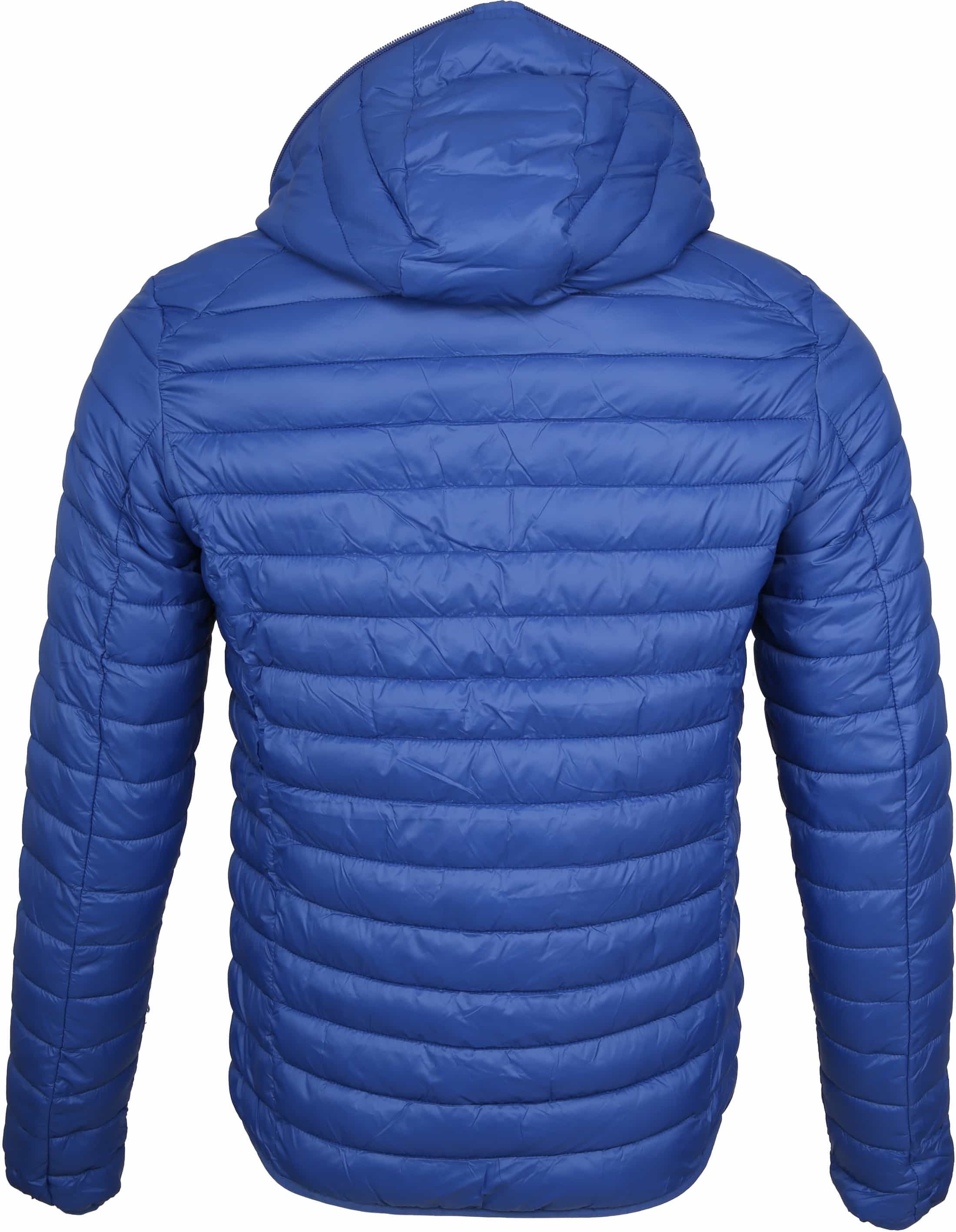 Save the Duck Jas Giga Hooded Blauw foto 4