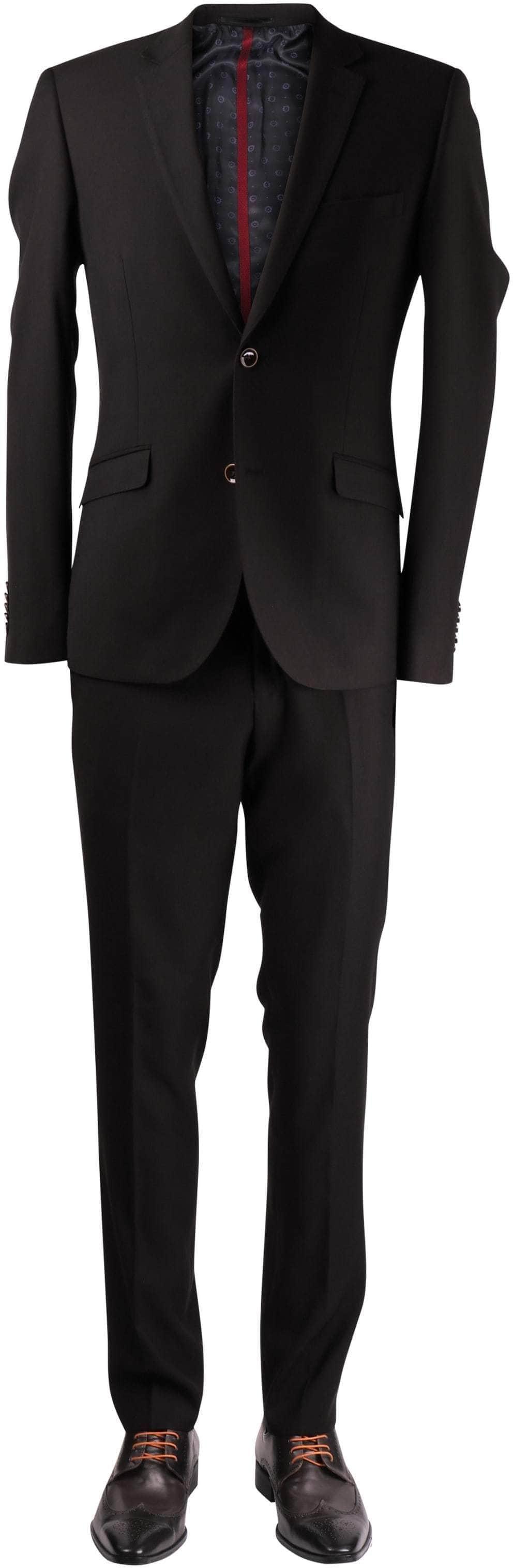 Schwarz Anzug Waynes