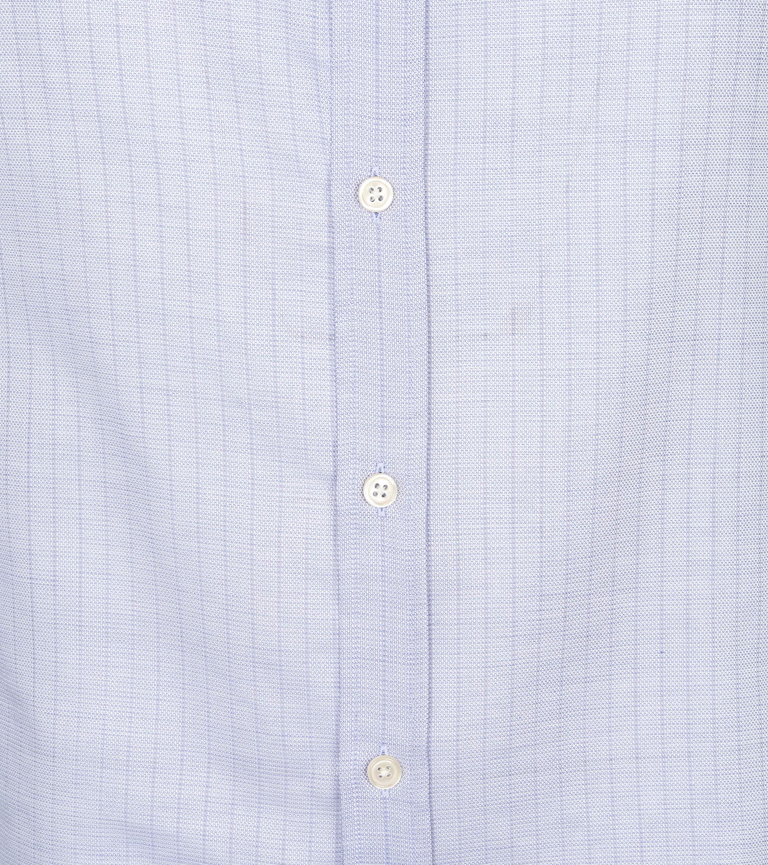 Scotch and Soda Overhemd Strepen Lichtblauw