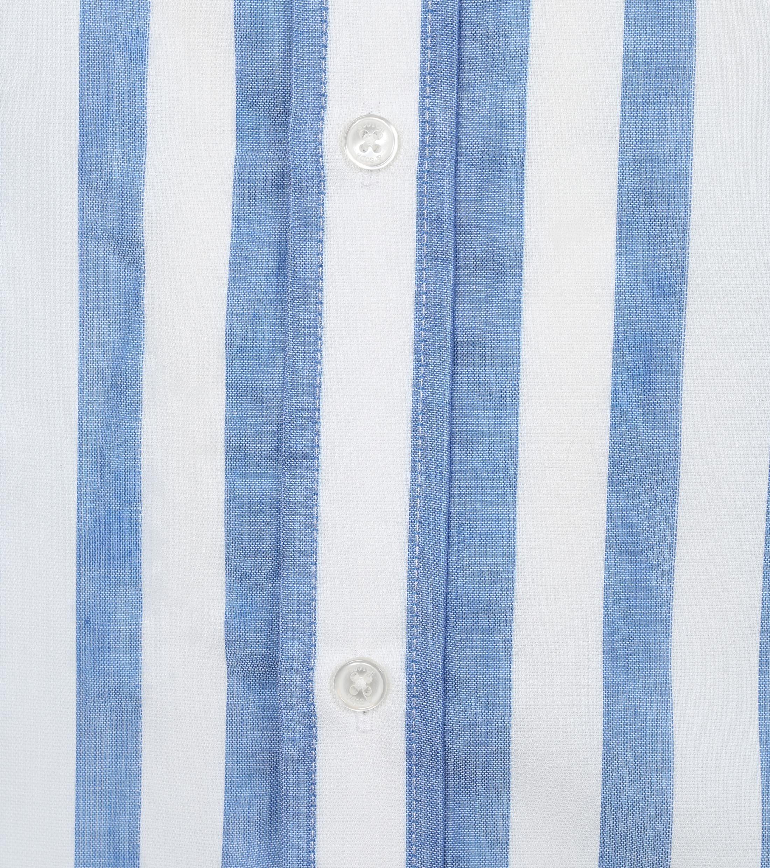 Scotch and Soda Overhemd Yarn-Dye Strepen Blauw