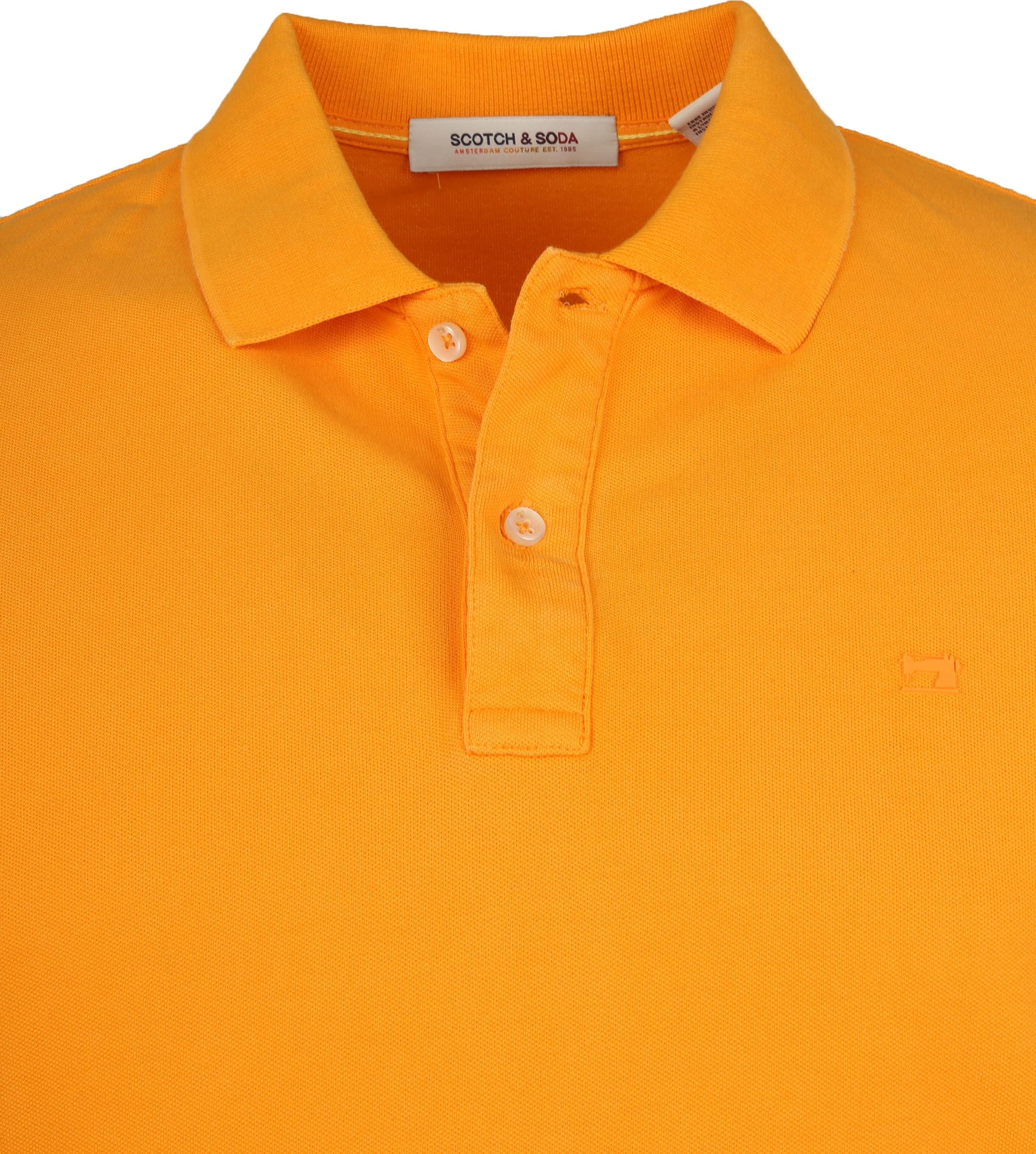 Scotch and Soda Polo Naranja Oranje