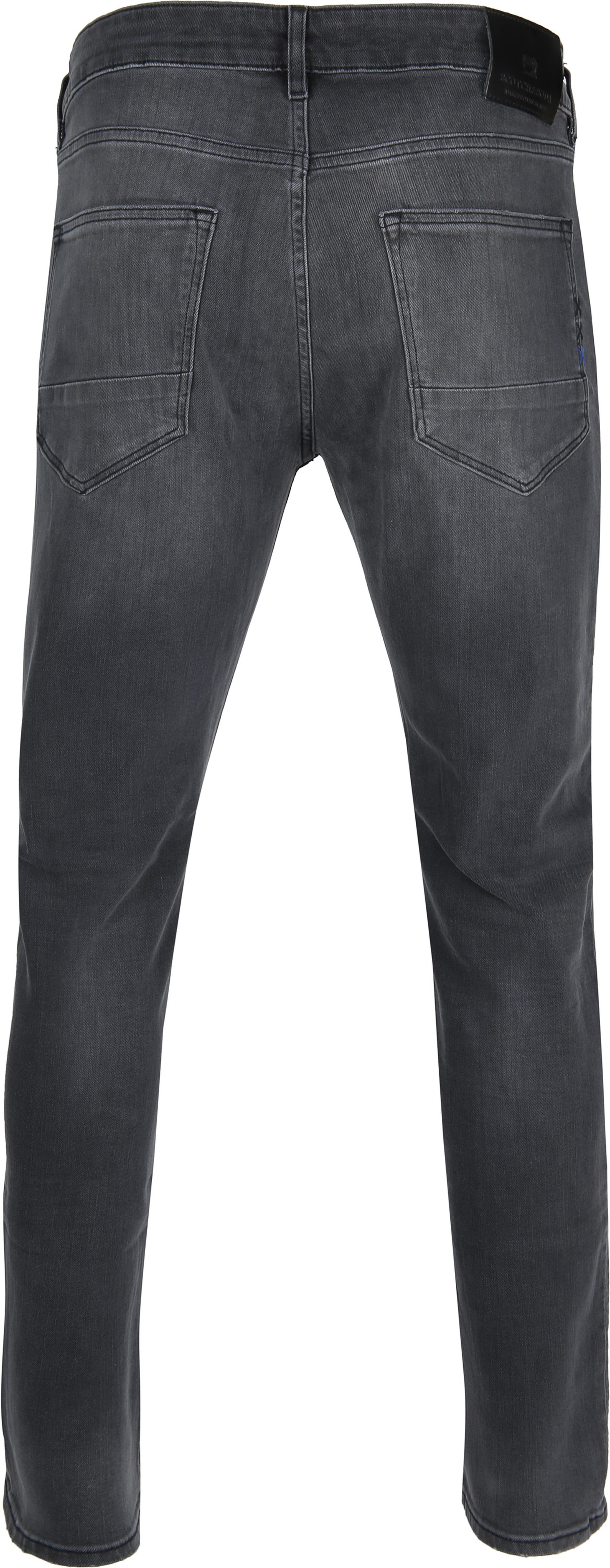 Scotch and Soda Skim Jeans Zwart