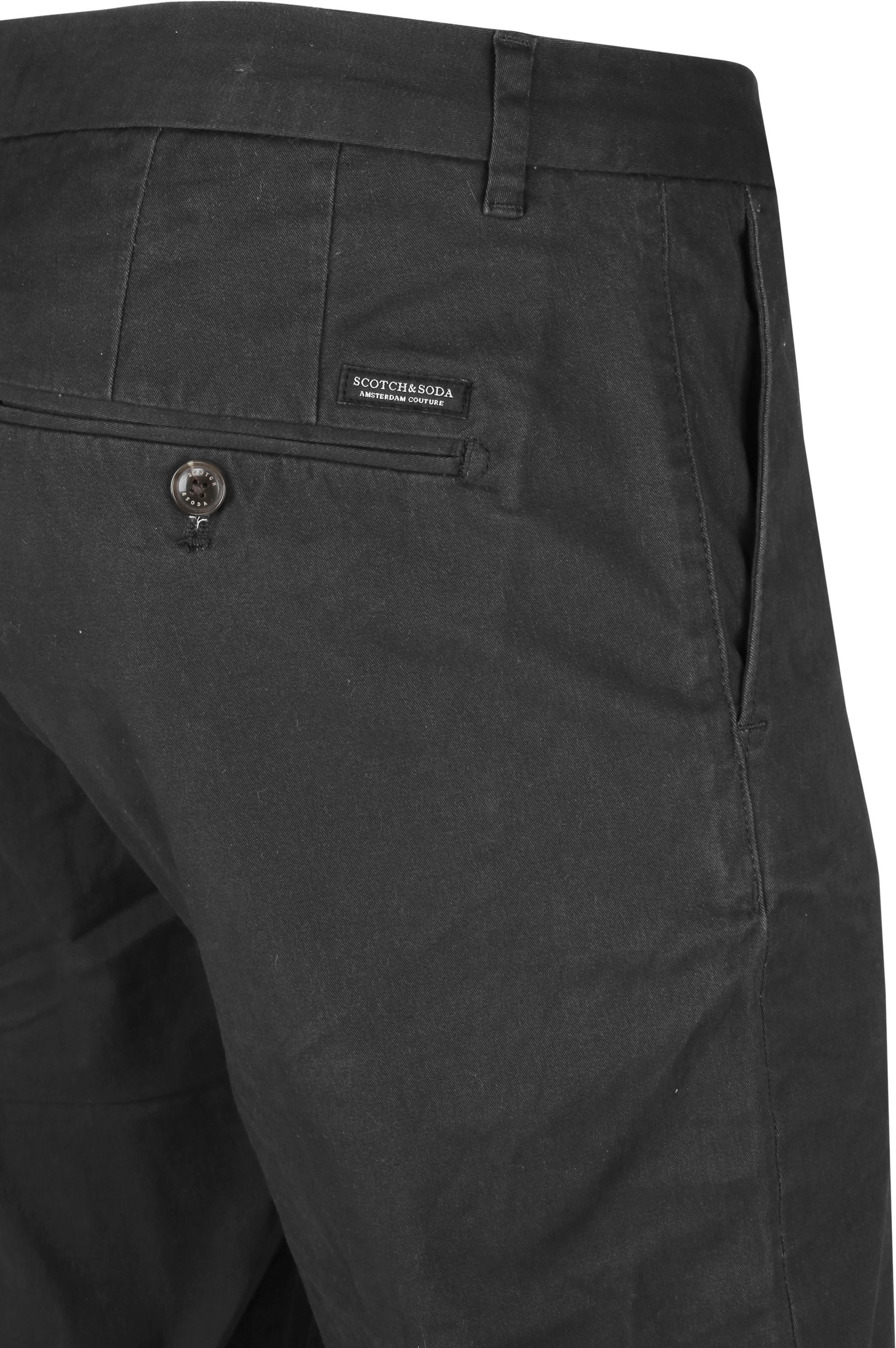 Scotch and Soda Stuart Chino Antraciet