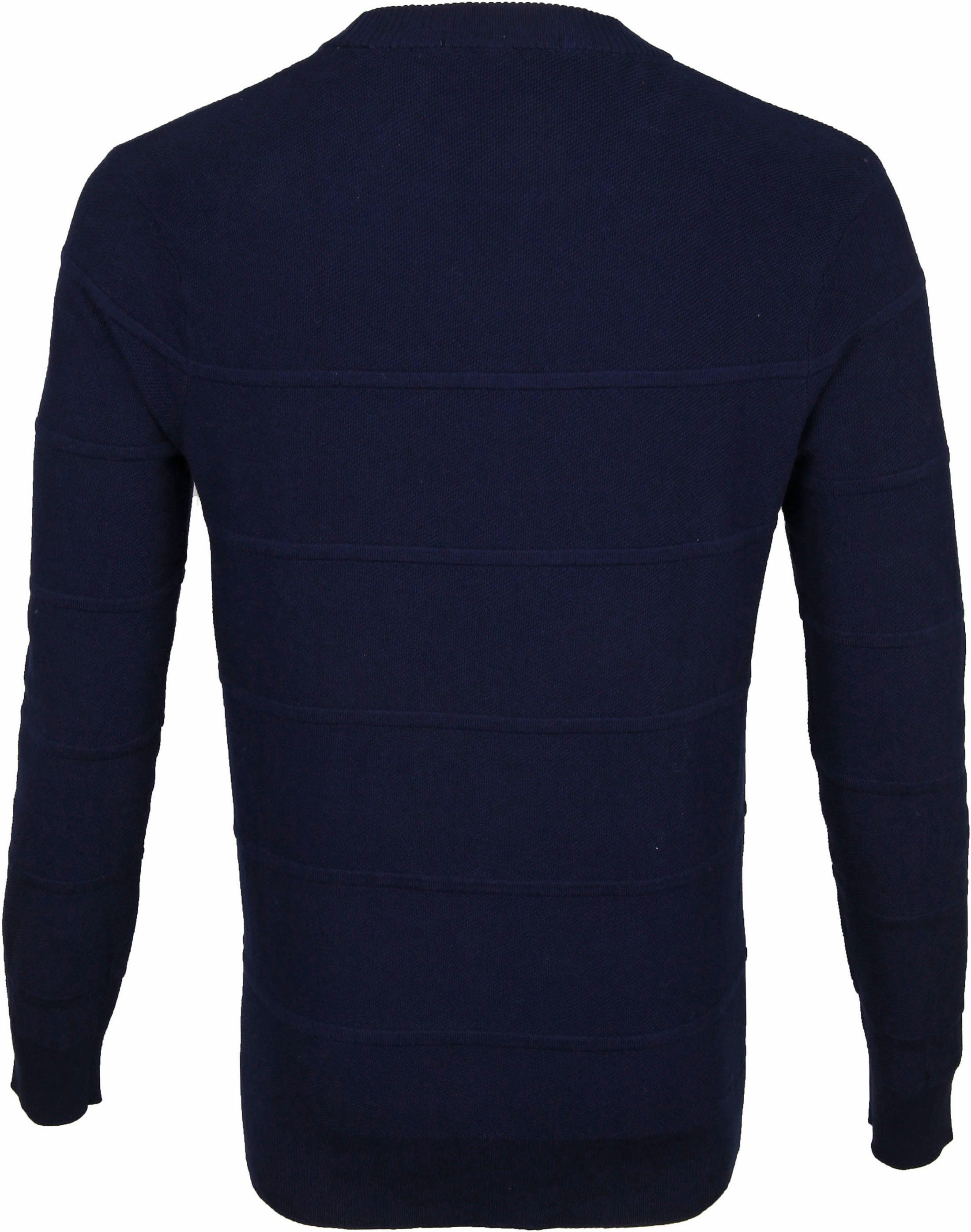 Scotch and Soda Sweater Donkerblauw Strepen