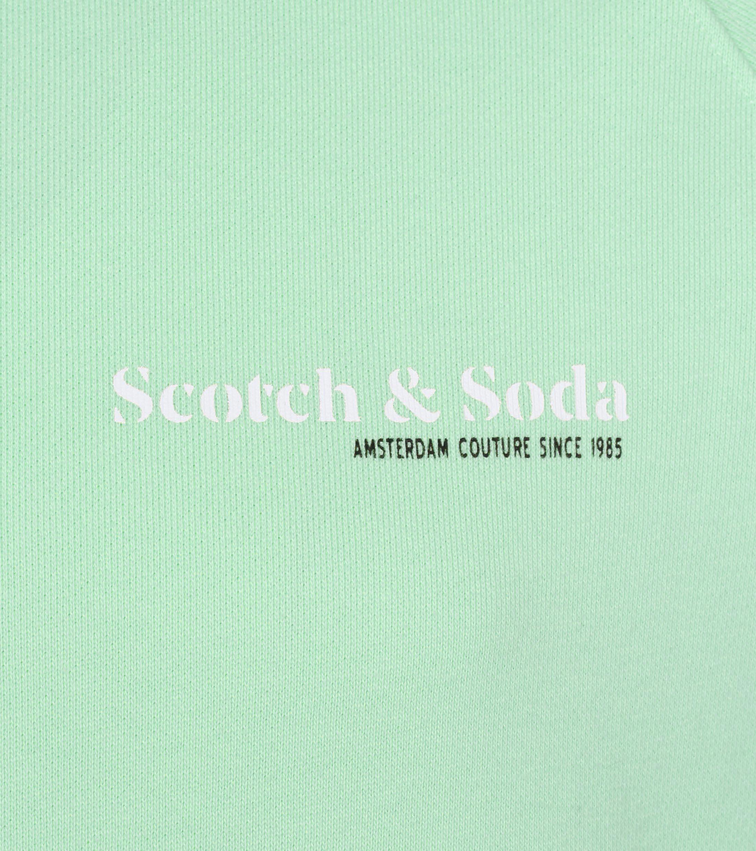 Scotch and Soda Sweater Logo Groen