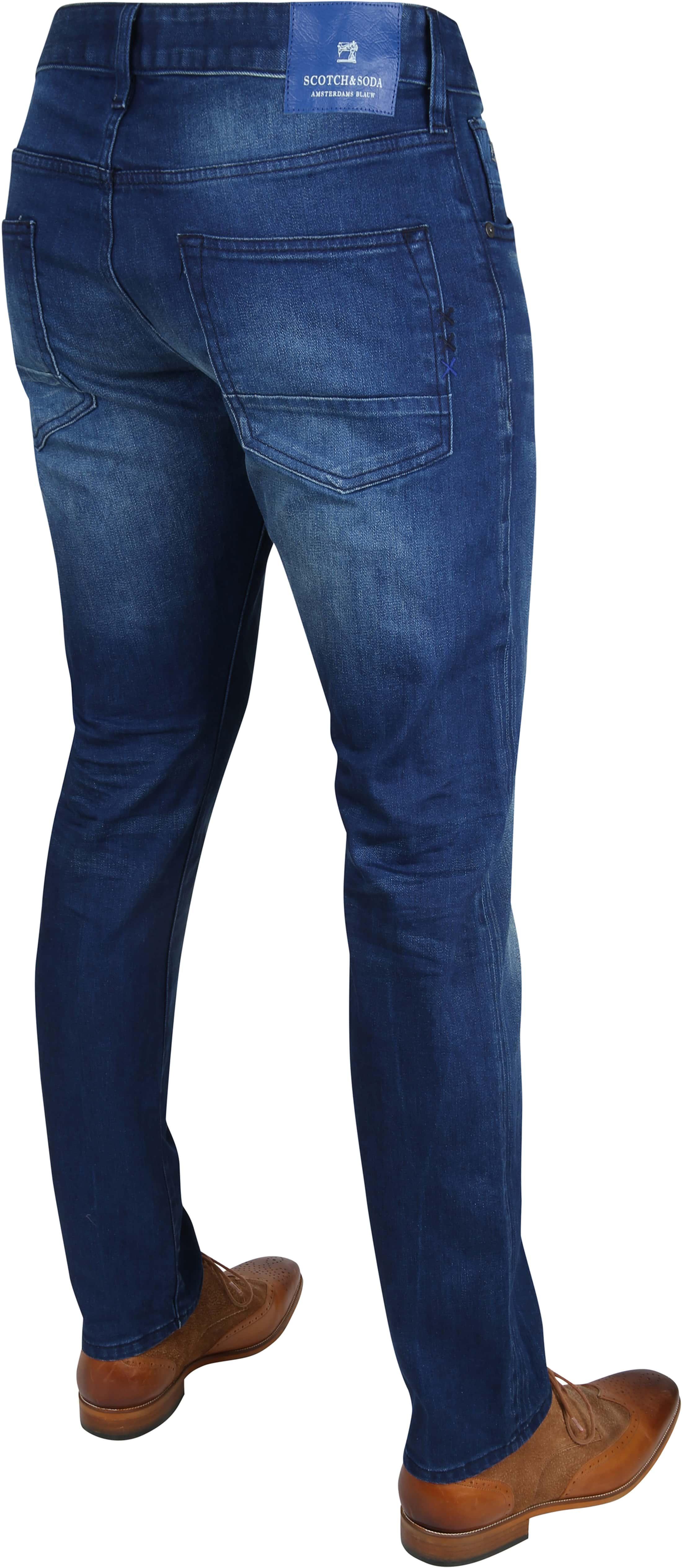 Scotch & Soda Ralston Jeans Blauw foto 3