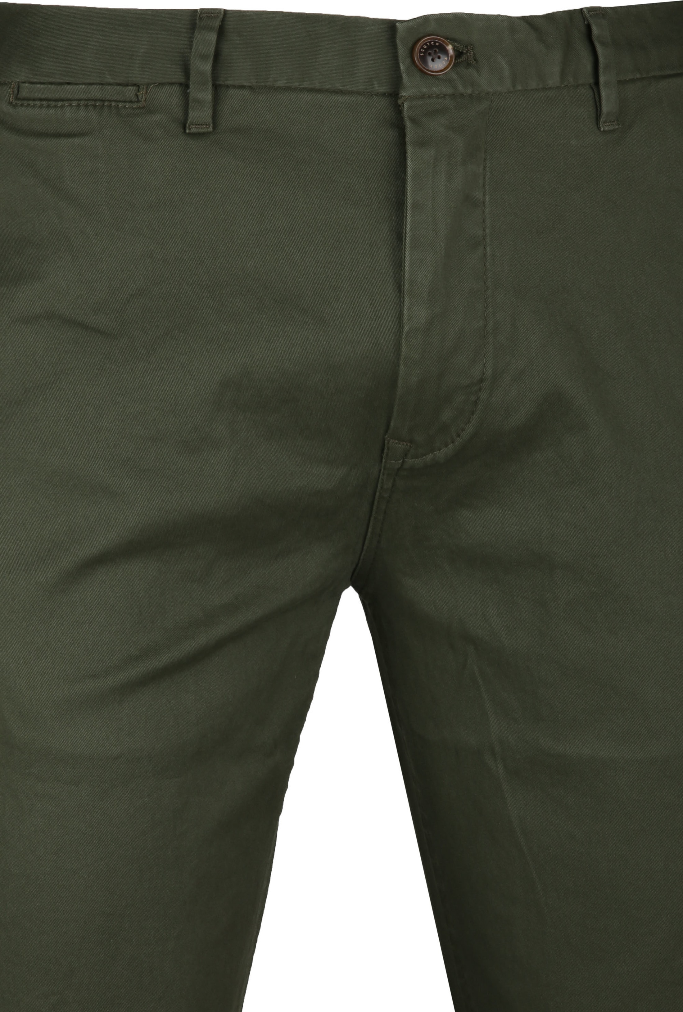 Scotch & Soda Stuart Chino Dark Green foto 1