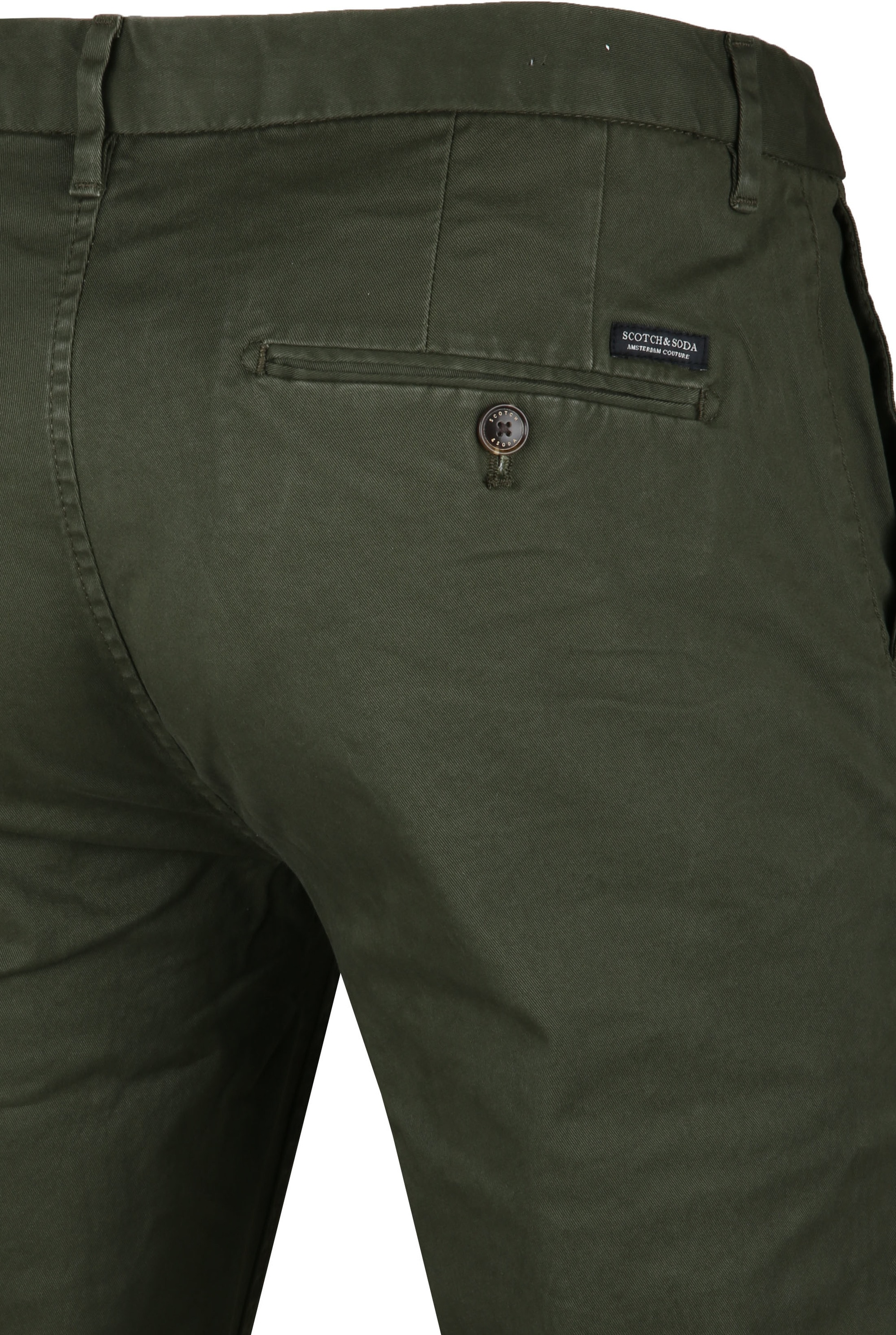 Scotch & Soda Stuart Chino Dark Green foto 2
