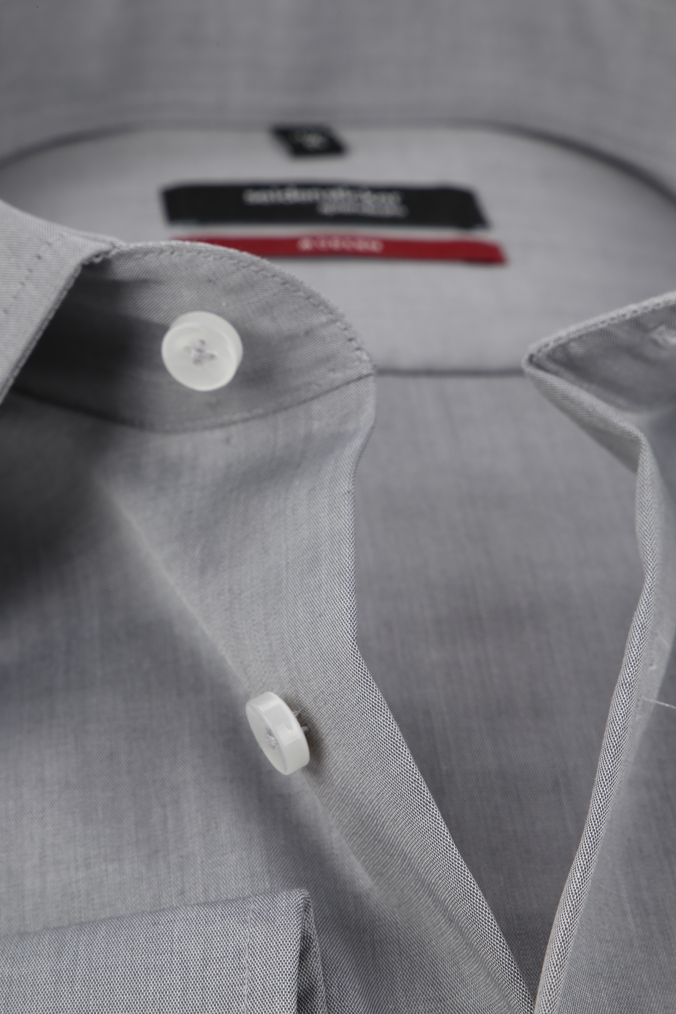 Seidensticker Hemd Bügelfrei Modern Grau foto 1