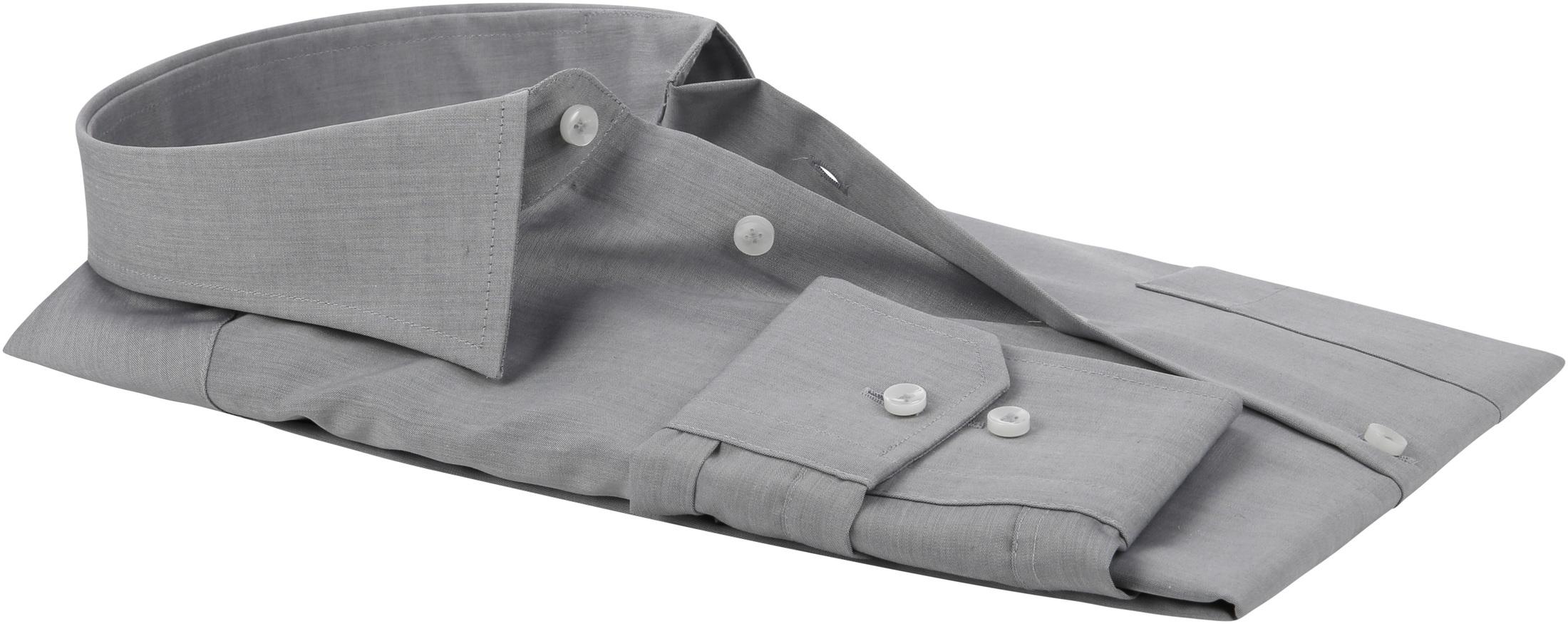 Seidensticker Hemd Bügelfrei Modern Grau foto 3