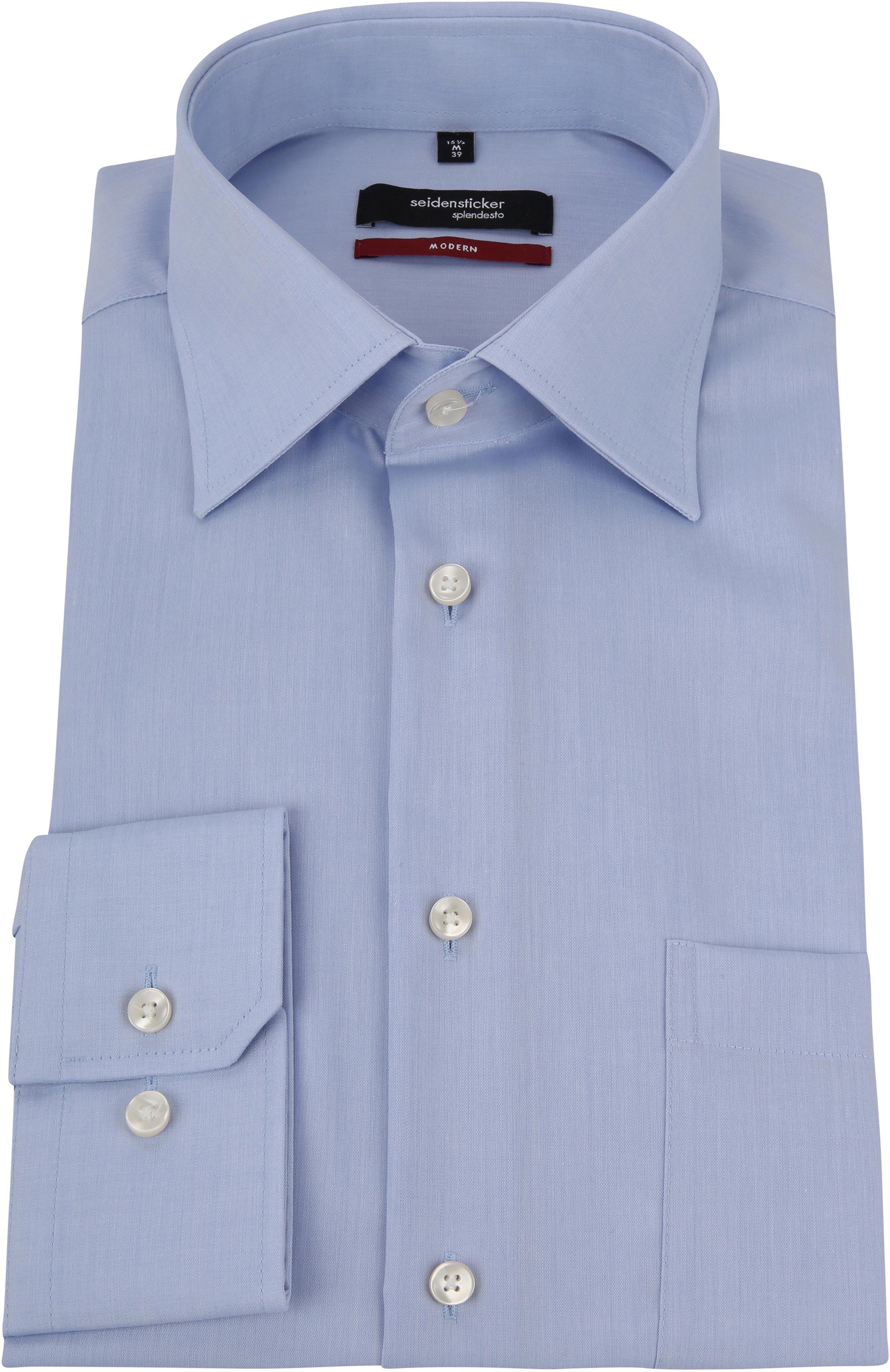 Seidensticker Hemd Bügelfrei Modern Light Blue foto 2