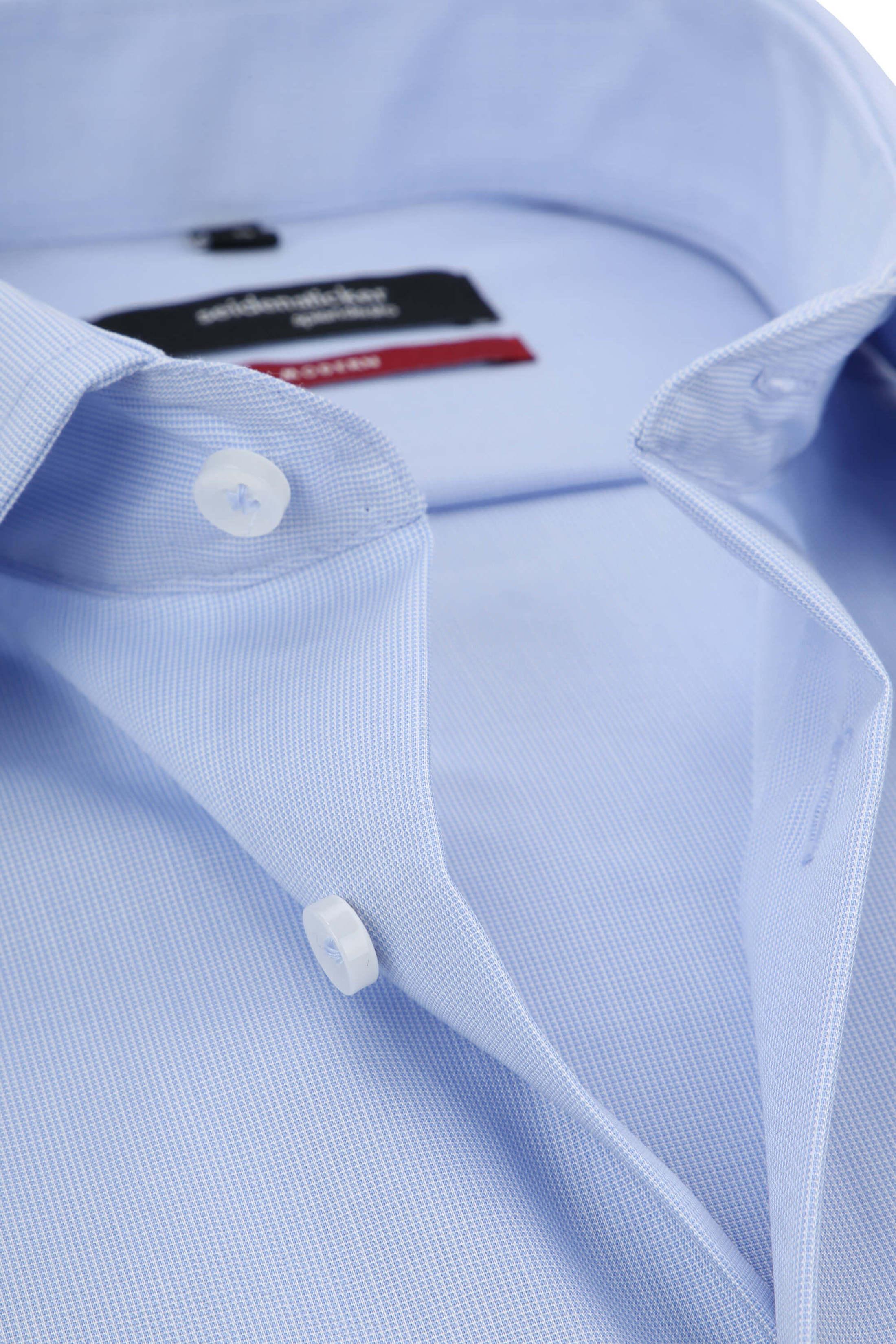 Seidensticker Hemd Modern Bügelfrei Himmelblau foto 1