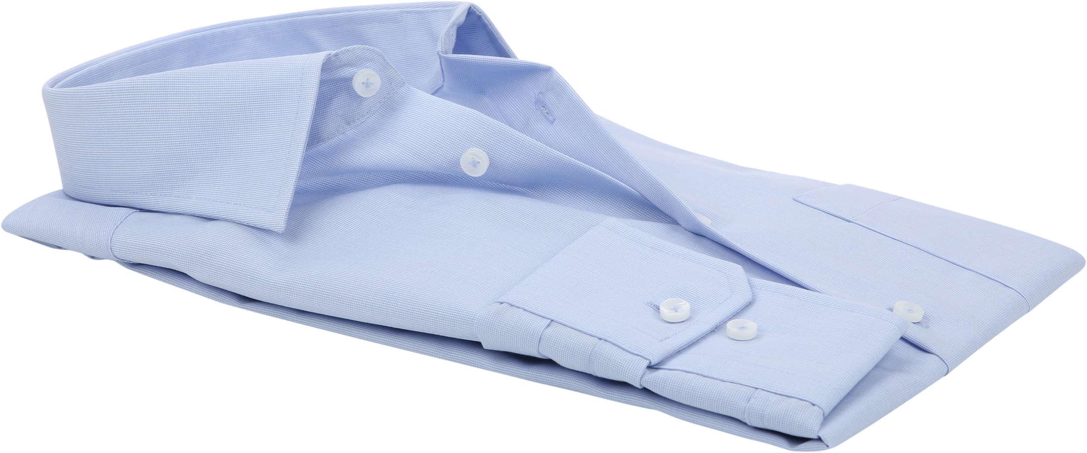Seidensticker Hemd Modern Bügelfrei Himmelblau foto 3