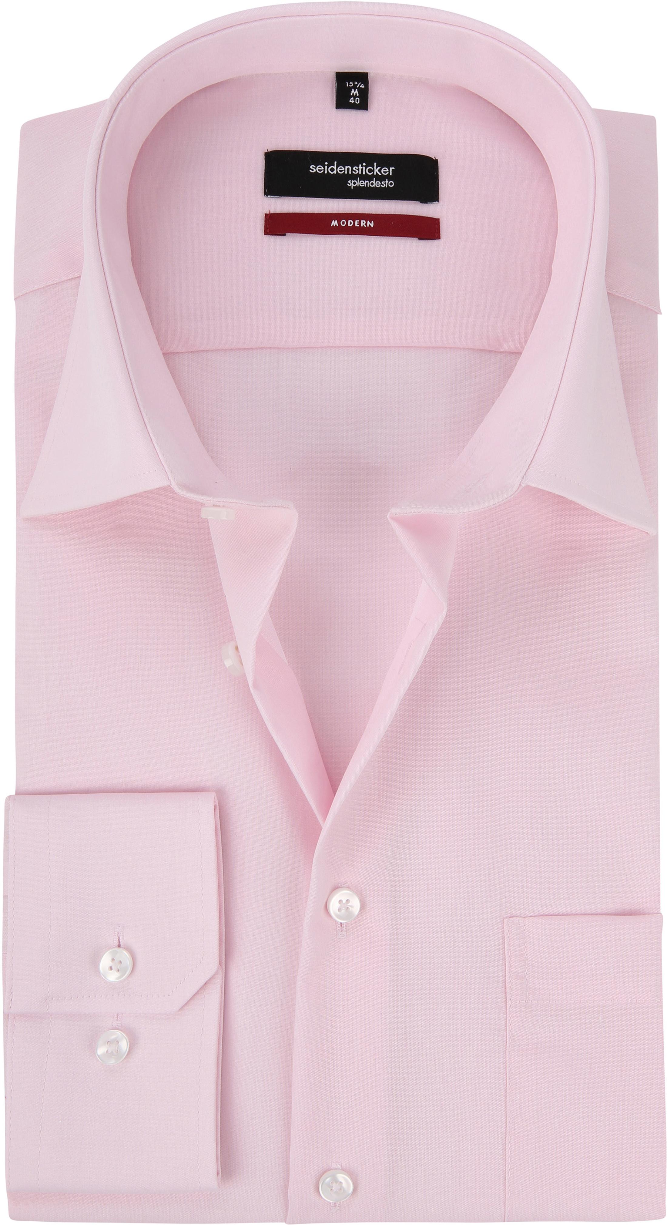 Seidensticker Hemd Modern Bügelfrei  Rosa foto 0