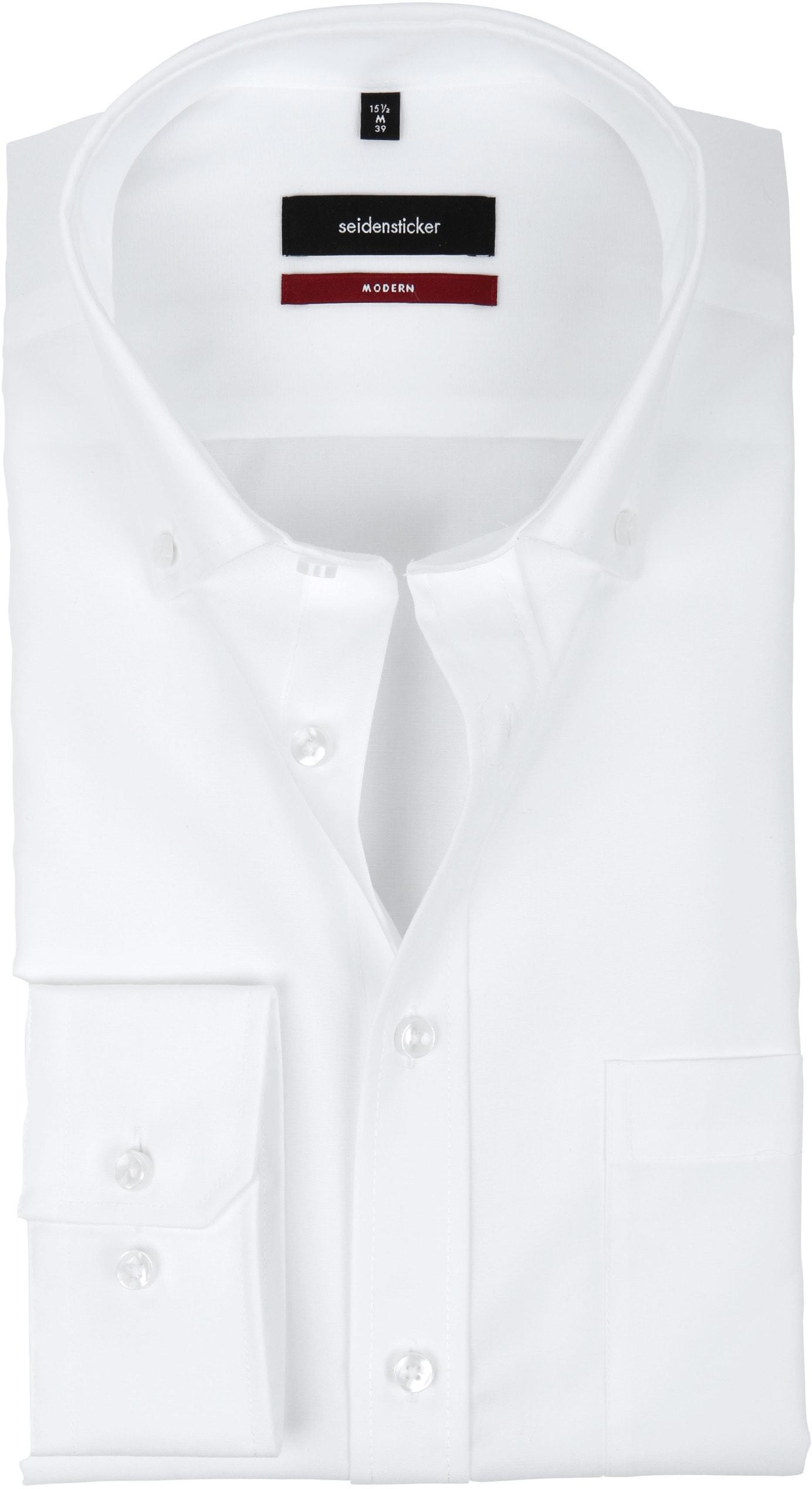 Seidensticker Non Iron Modern-Fit White BD 01.003002.01 order online ... 6b096ae06d77