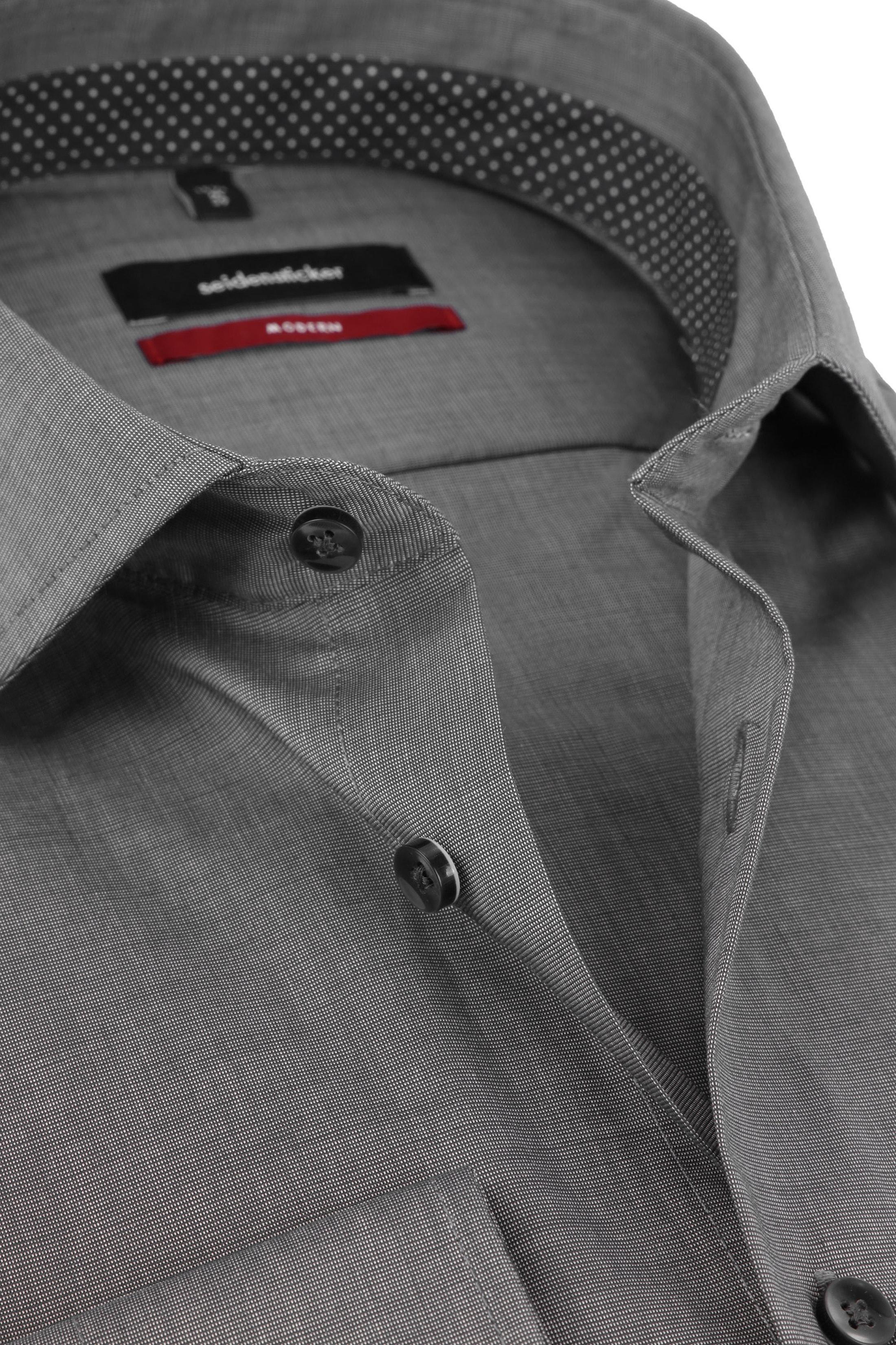 Seidensticker Overhemd Antraciet foto 1