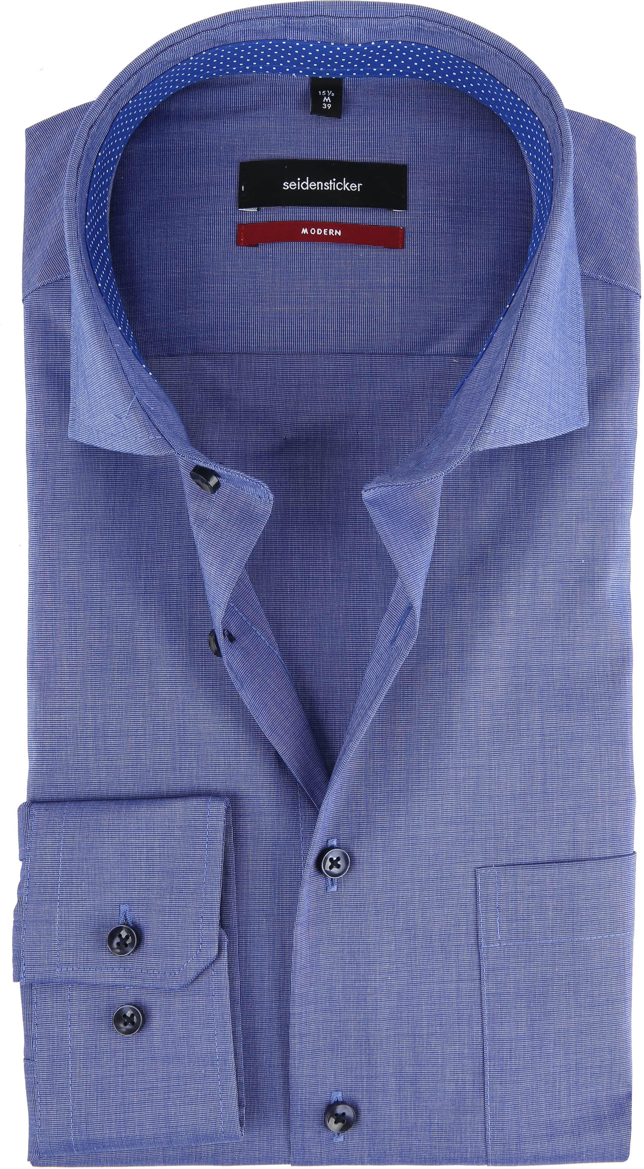 Seidensticker Overhemd Blauw foto 0
