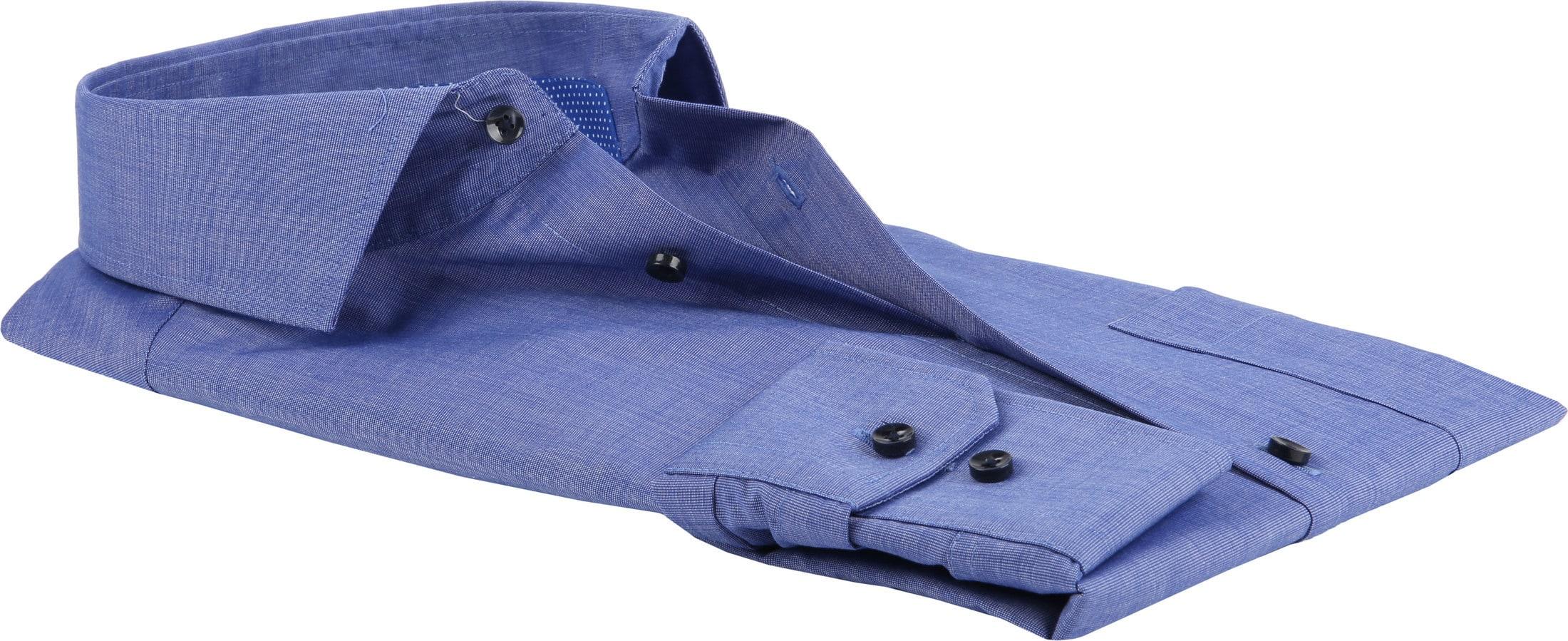 Seidensticker Overhemd Blauw foto 3