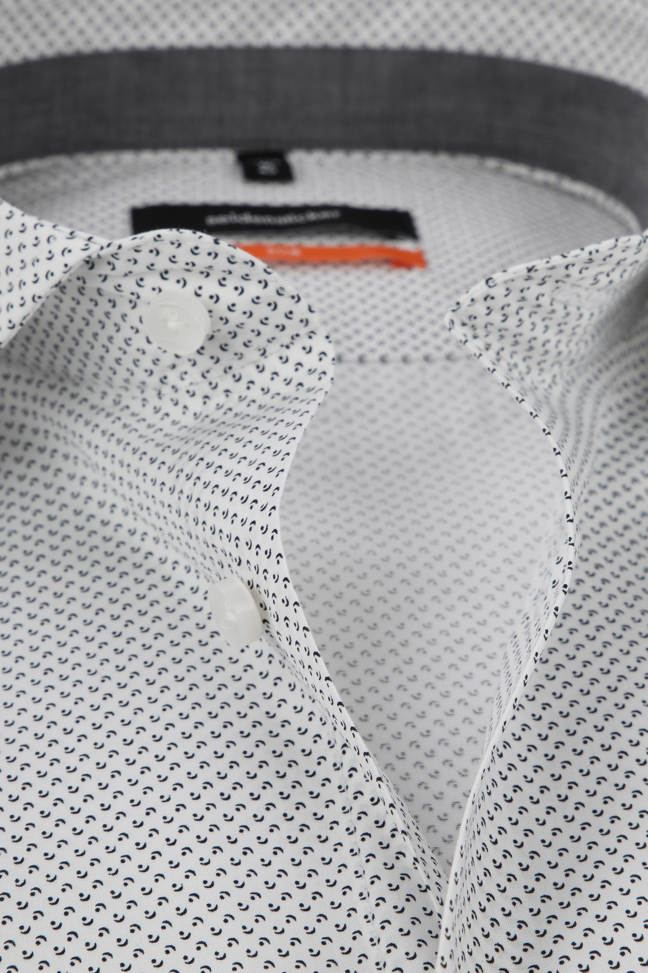 Seidensticker Overhemd Dessin Grijs foto 1