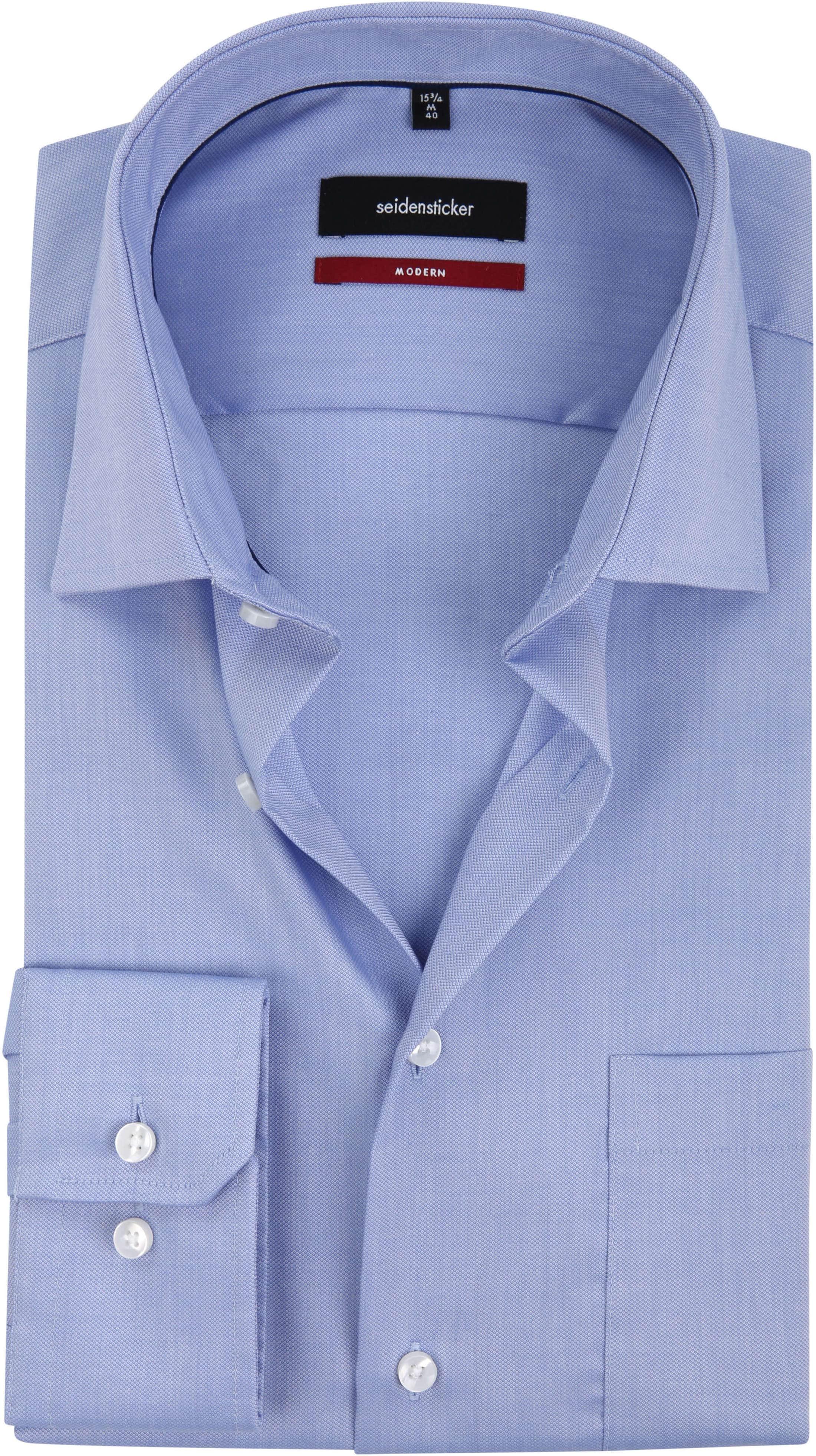 Seidensticker Overhemd MF Blauw foto 0