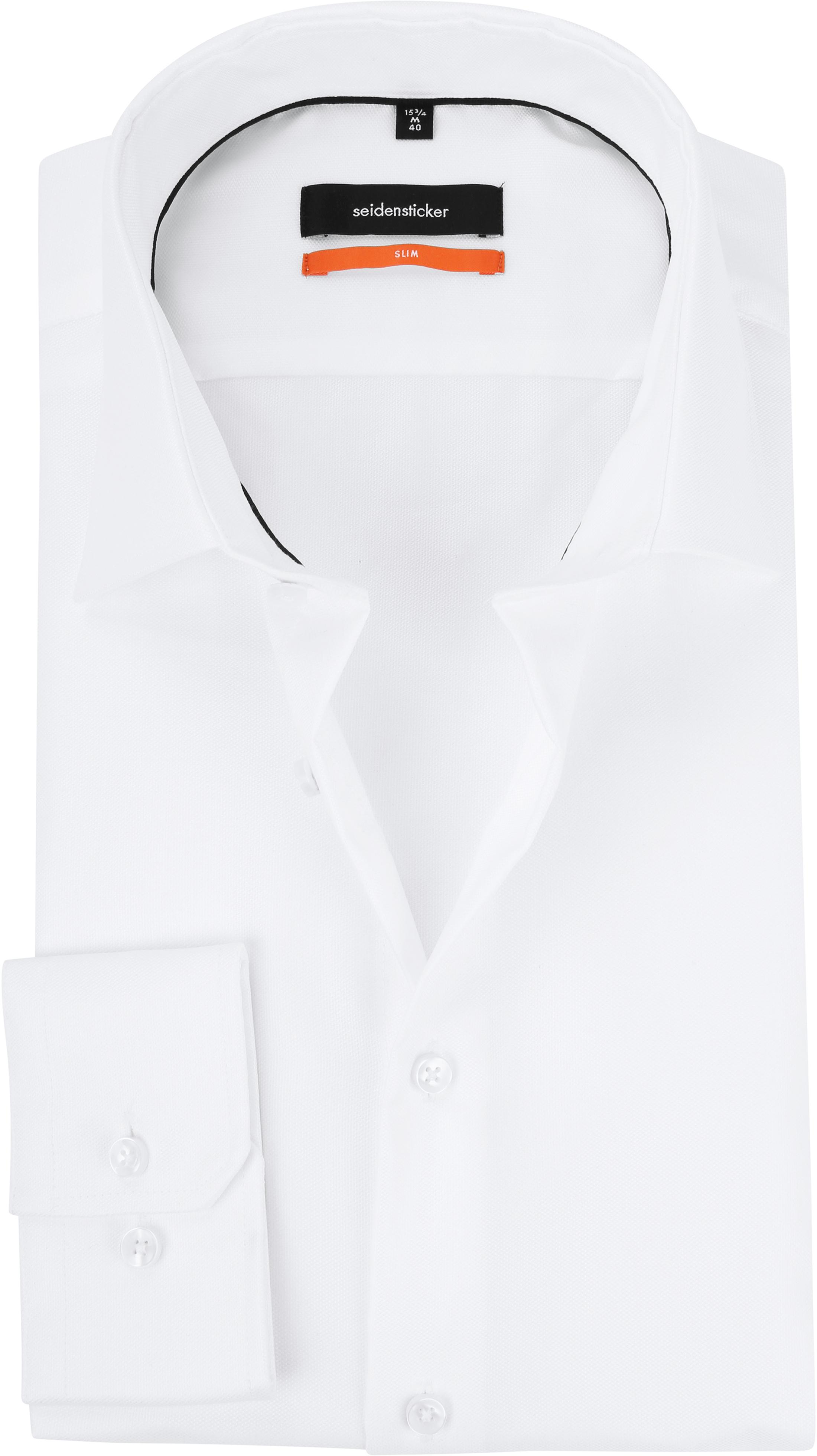 Seidensticker Overhemd Oxford Wit foto 0