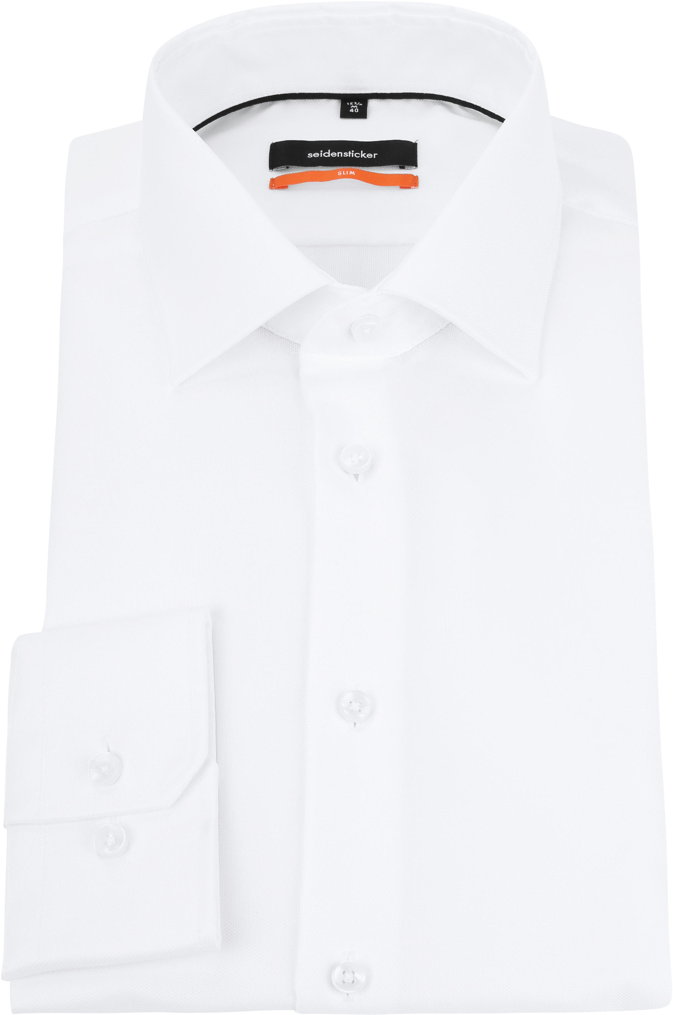 Seidensticker Overhemd Oxford Wit foto 2