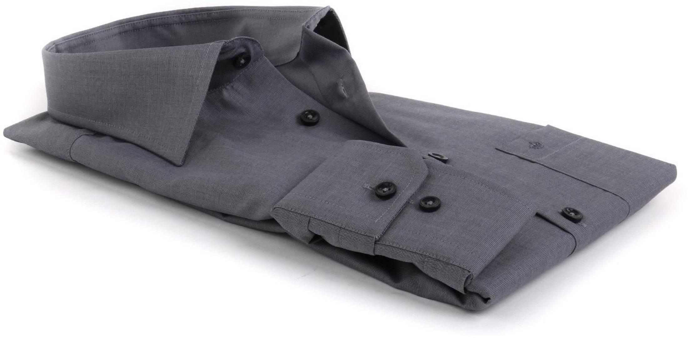 Seidensticker Overhemd Regular Fit Antraciet foto 2