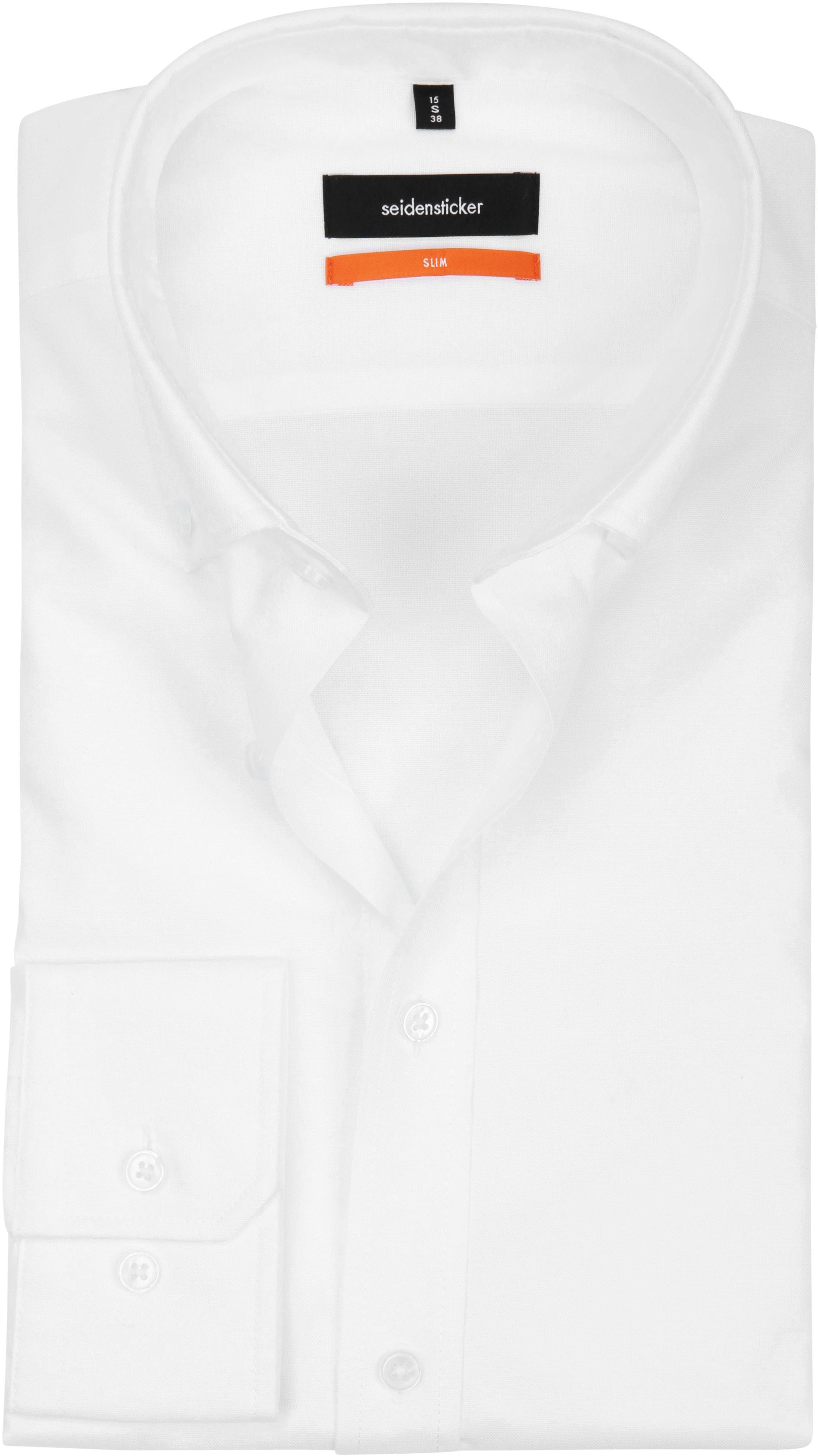 Seidensticker Overhemd SF Button Down Wit foto 0