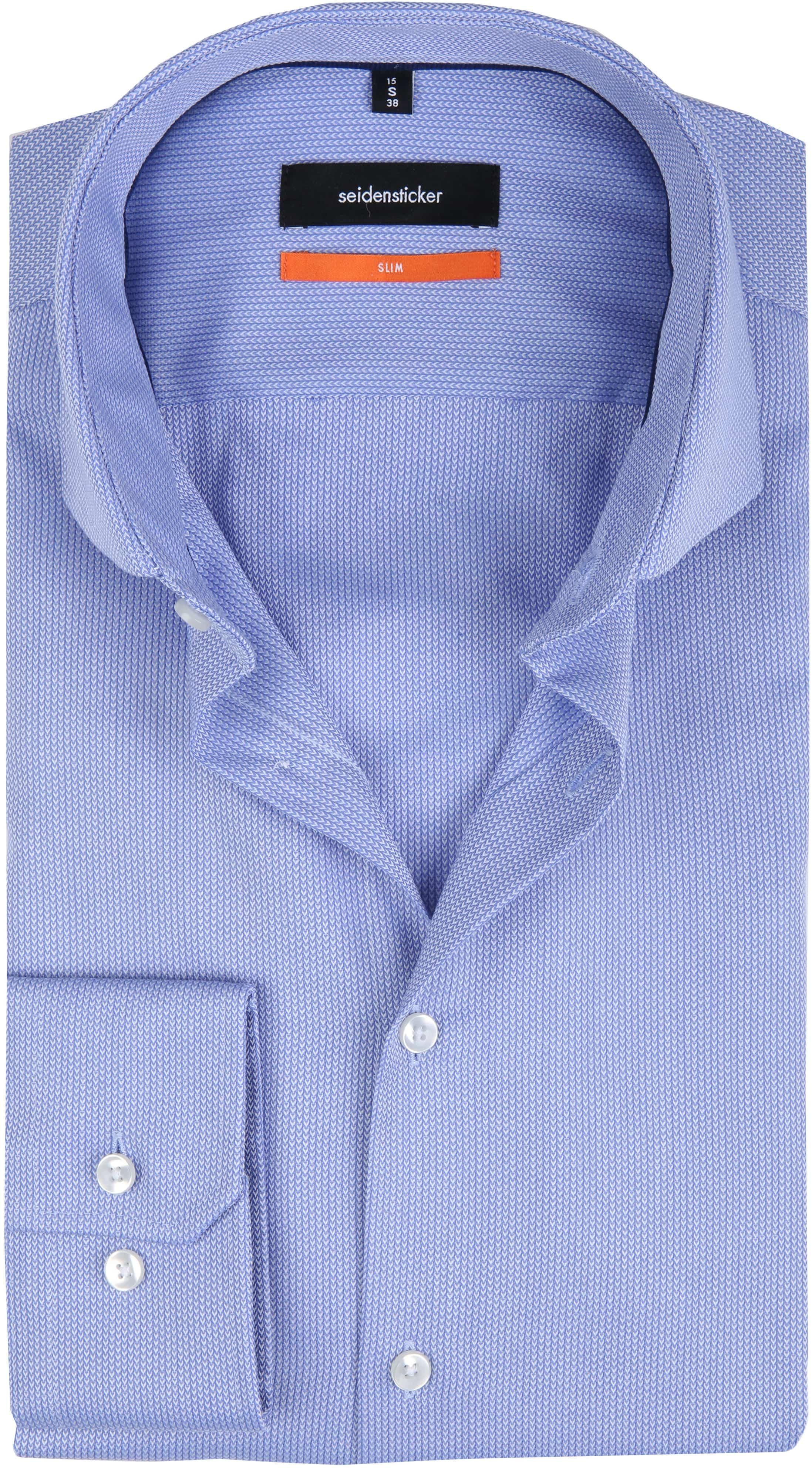 Seidensticker Overhemd SF Herring Blue foto 0